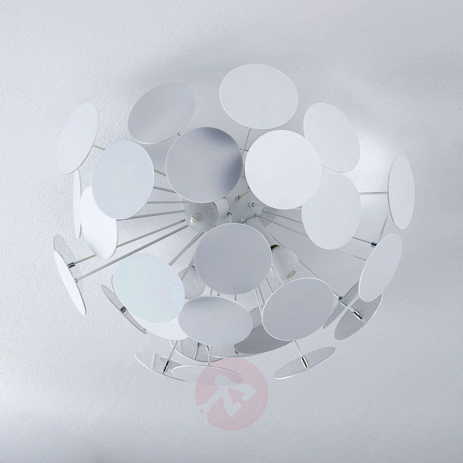 Kuviollinen kattovalaisin Kinan, valkoinen-9621166-08