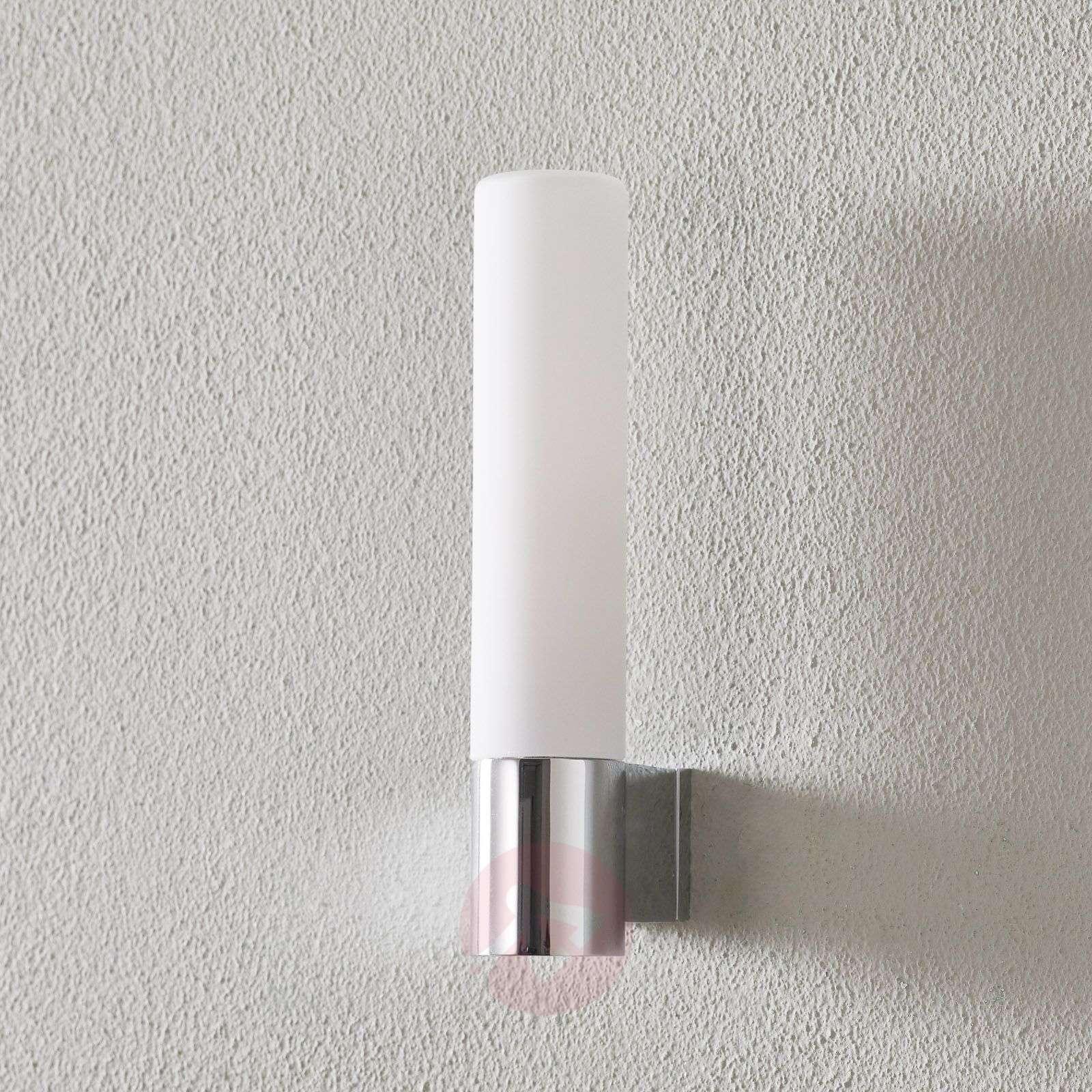 Kylpyhuone-seinävalaisin Bari valkoisella lasilla-1020012-02