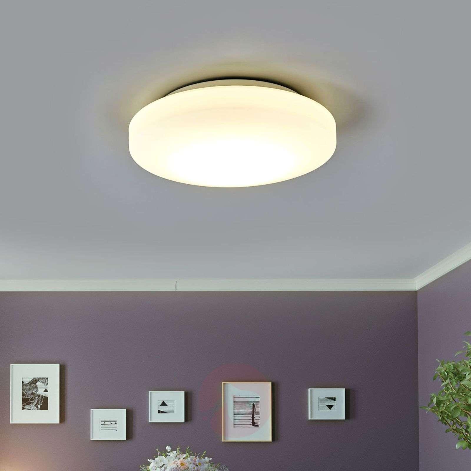 Kylpyhuoneen LED-kattovalaisin Malte opaalilasia-1050088-01