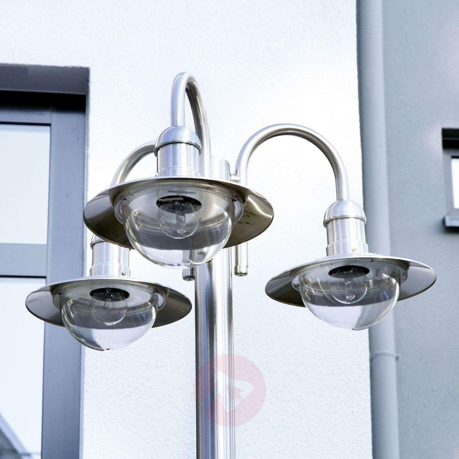 Kynttelikkö Damion ruostumatonta terästä 3 lamppua-9960020-01