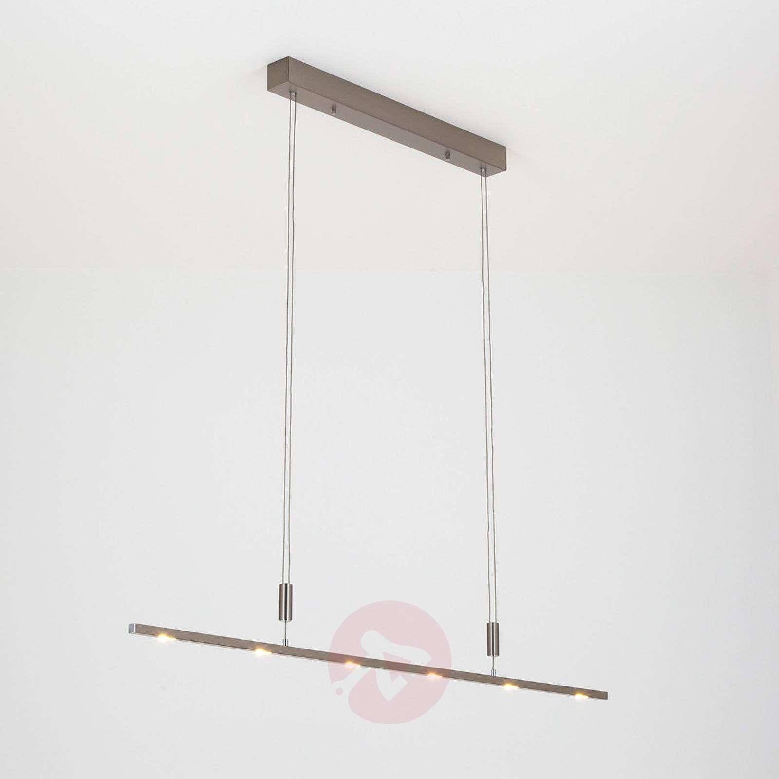 Laadukas LED-riippuvalaisin Tolu, korkeussäädöllä-6722001-013