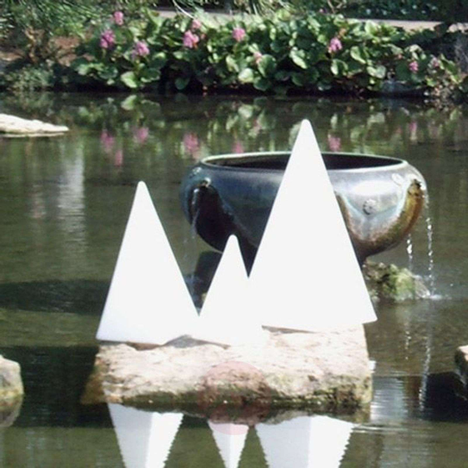 Laadukas valopyramidi kumialustalla 36 cm-3050053X-01