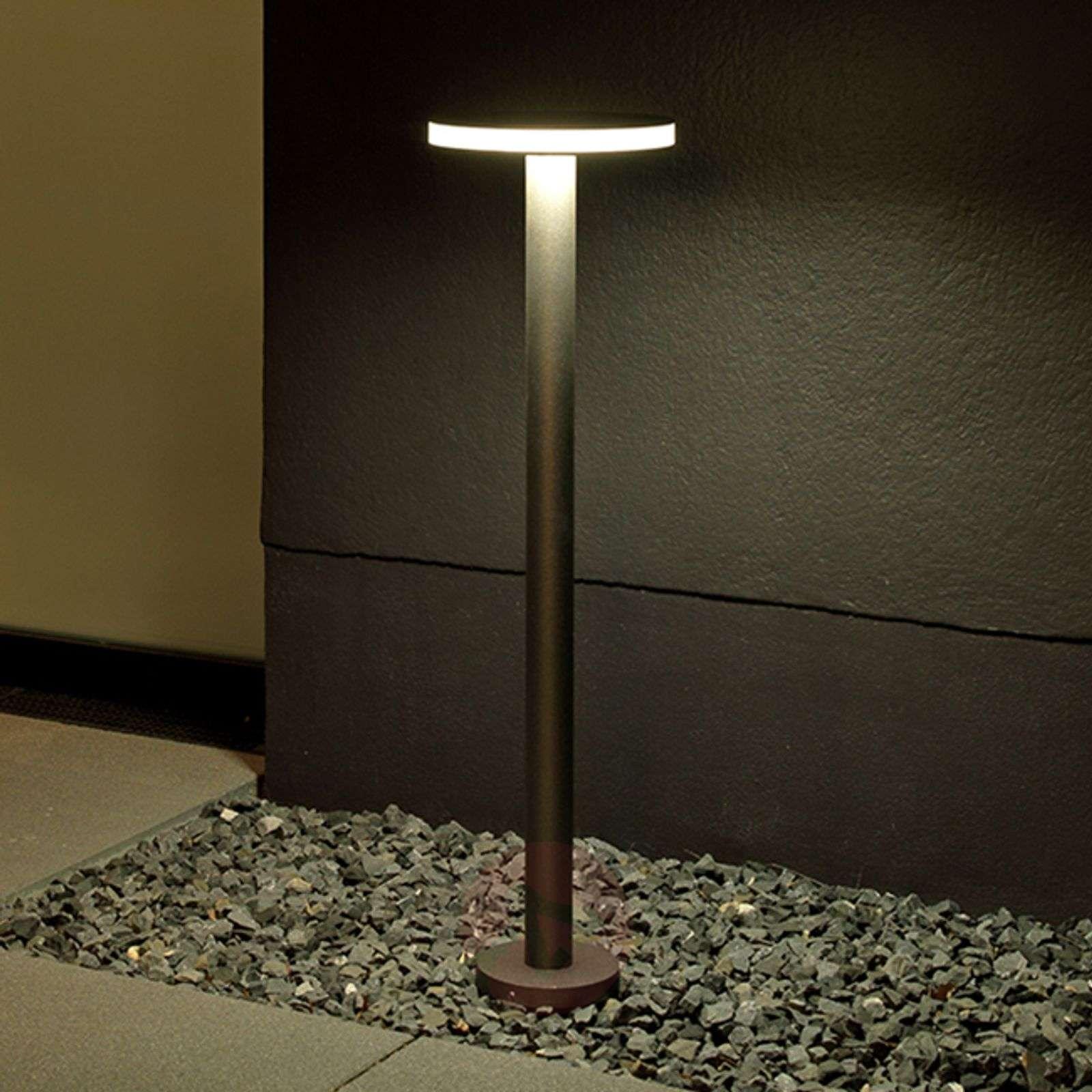Laajasti valaiseva Tamias-LED-pollarivalaisin-4000339-01