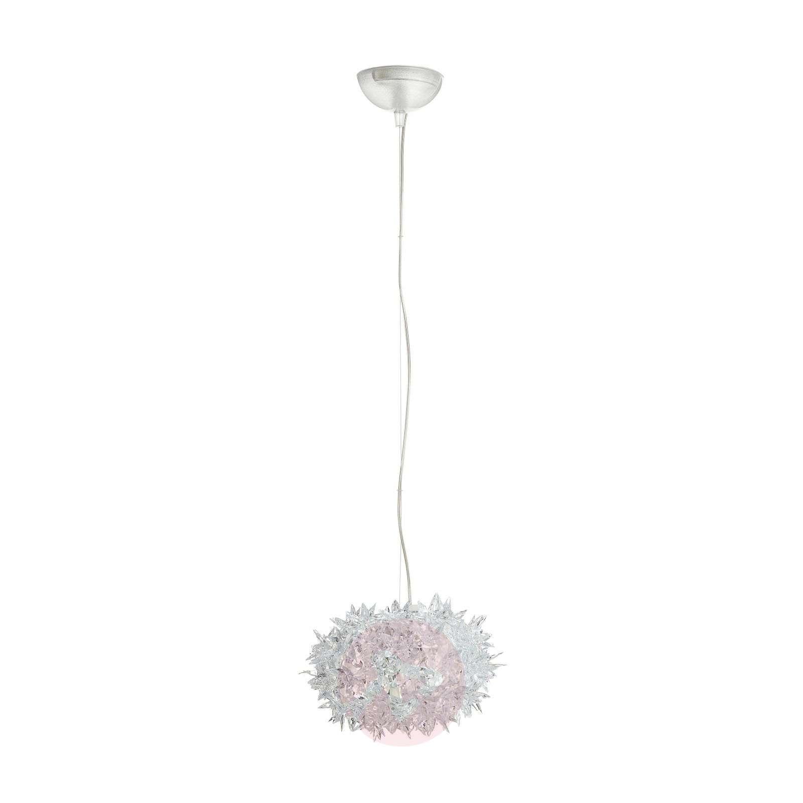 Läpinäkyvä design-LED-riippuvalo Bloom, 28 cm-5541048-01