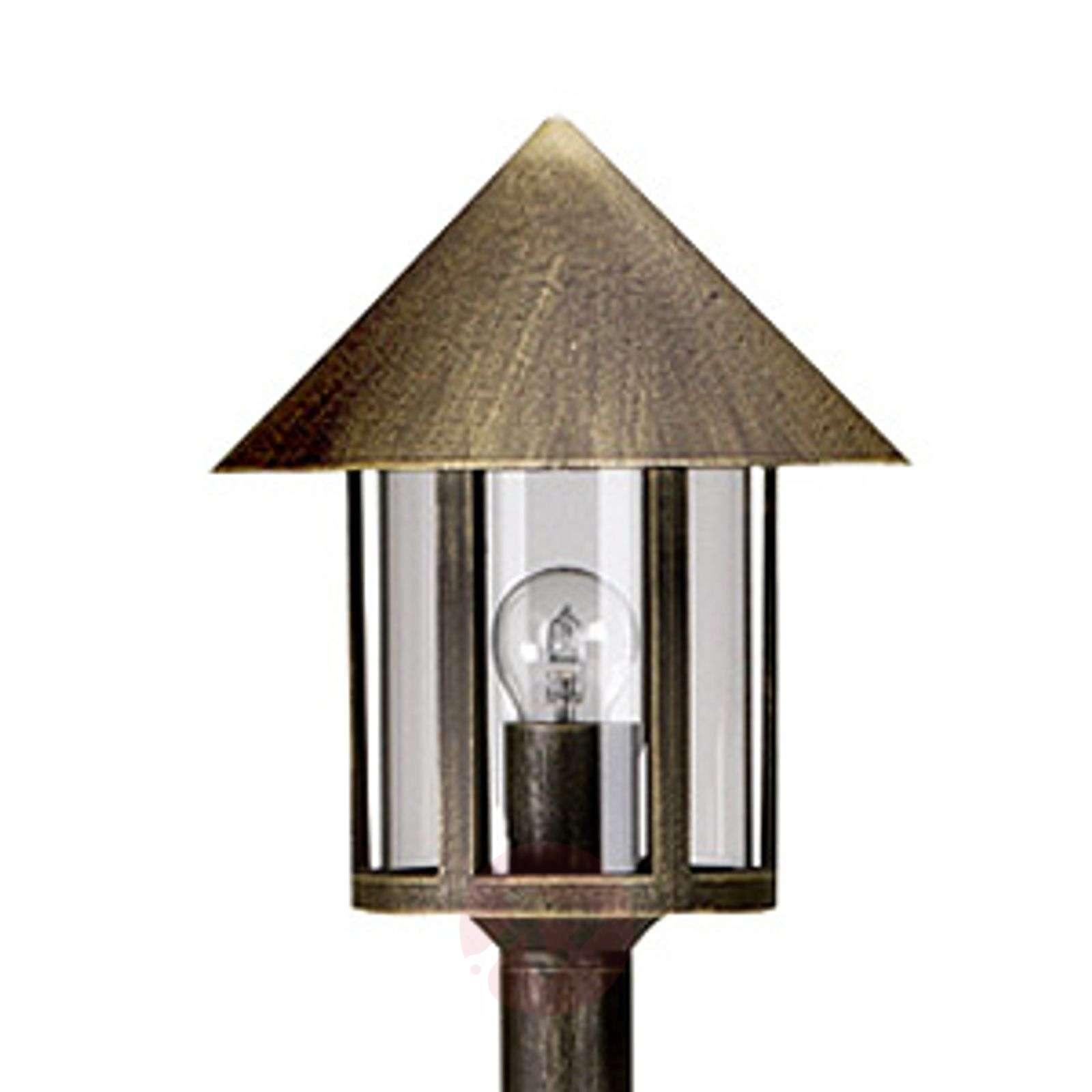 Lampione-lyhtypylväs 1-lamppuinen ruskea-4000257-01