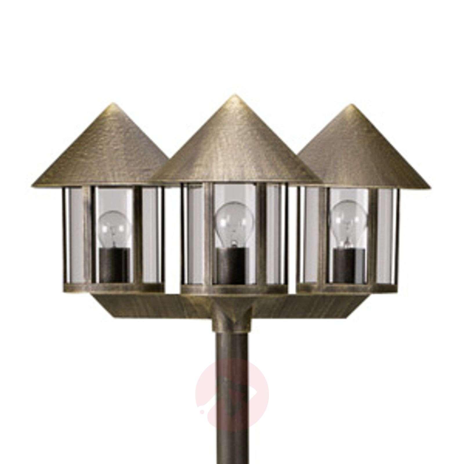 Lampione-lyhtypylväs 3-lamppuinen-4000260X-01