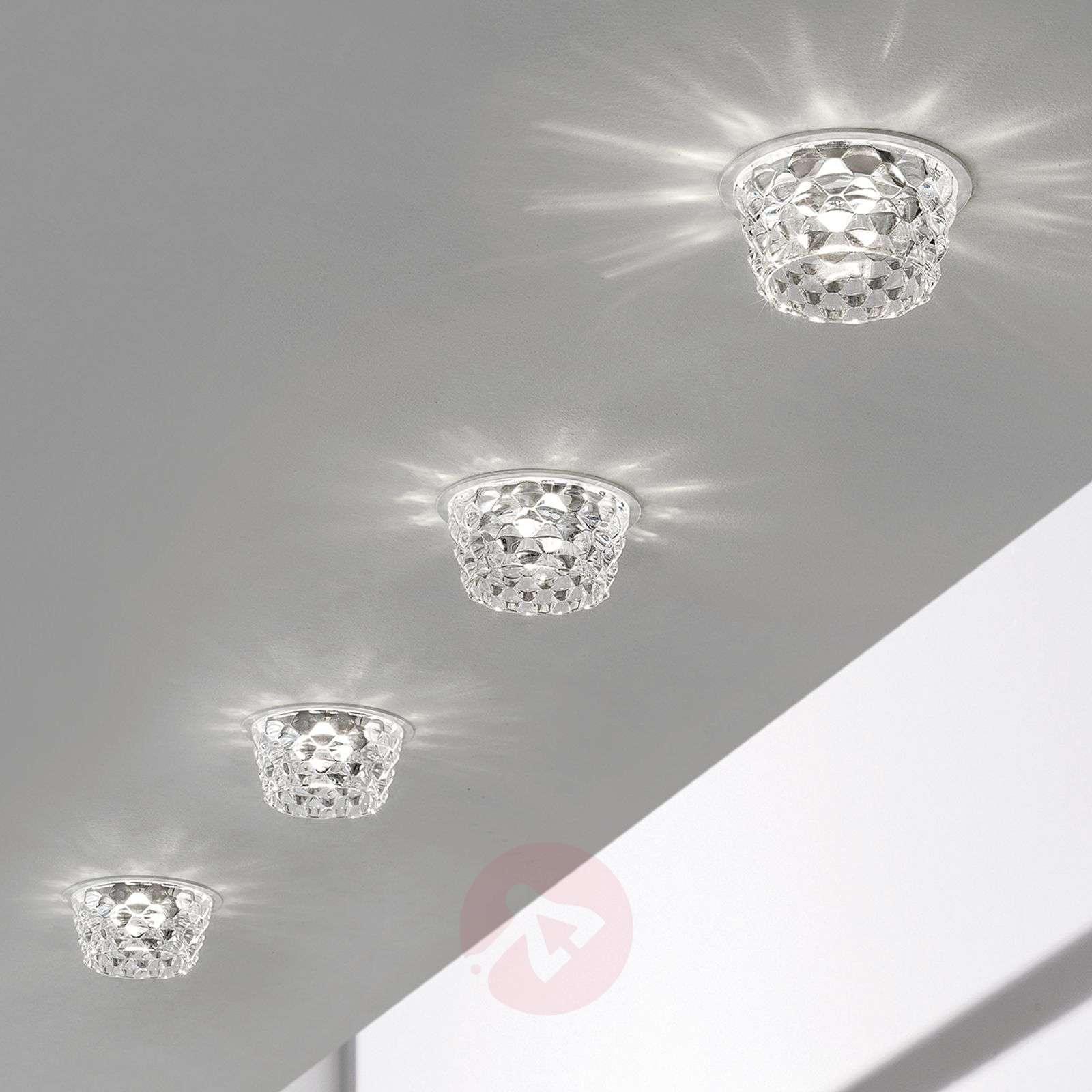 Lasinen Fedora-LED-upotettava kattovalaisin kirkas-1088114-01