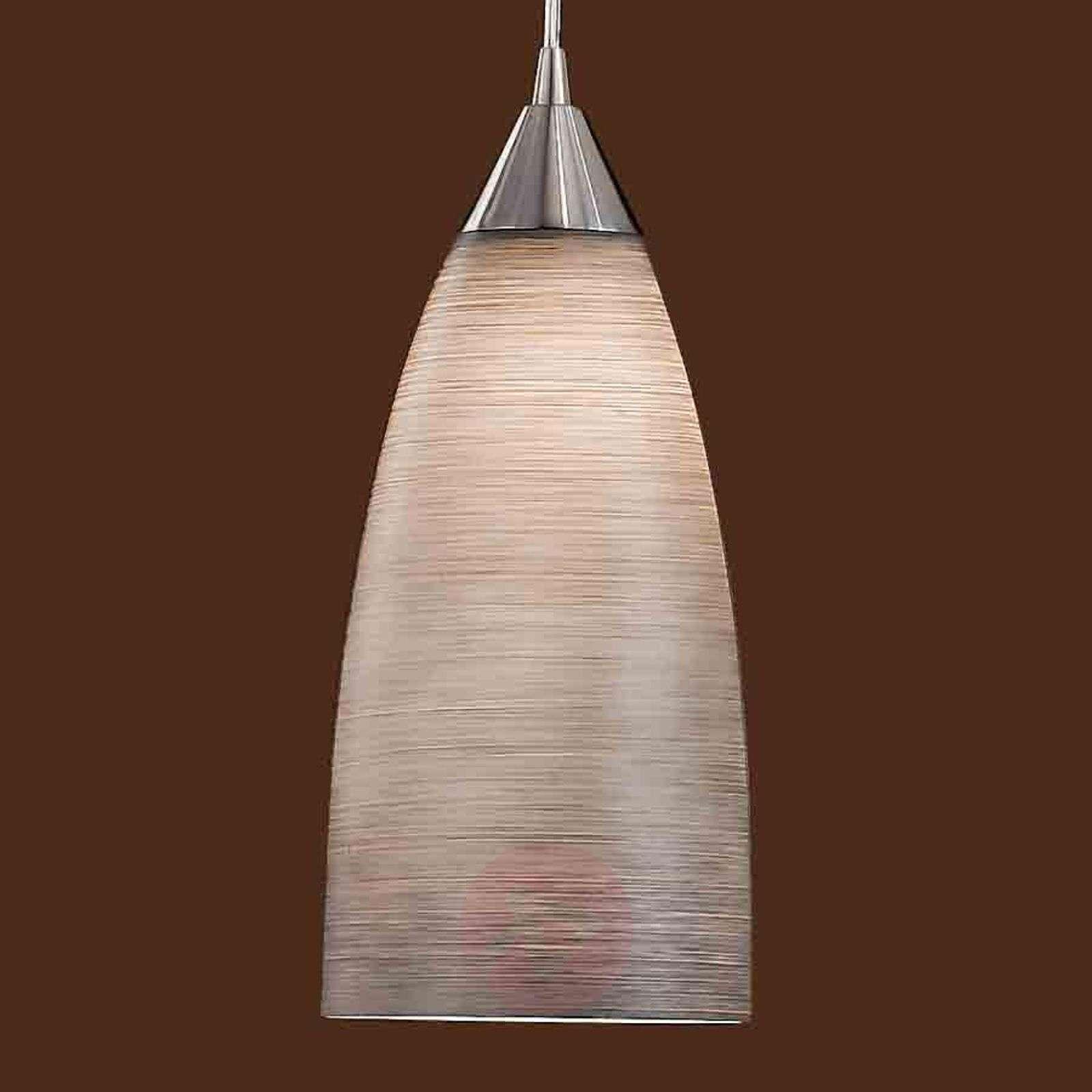 Lasinen riippuvalaisin MADINA, halkaisija 15cm-7254248X-02
