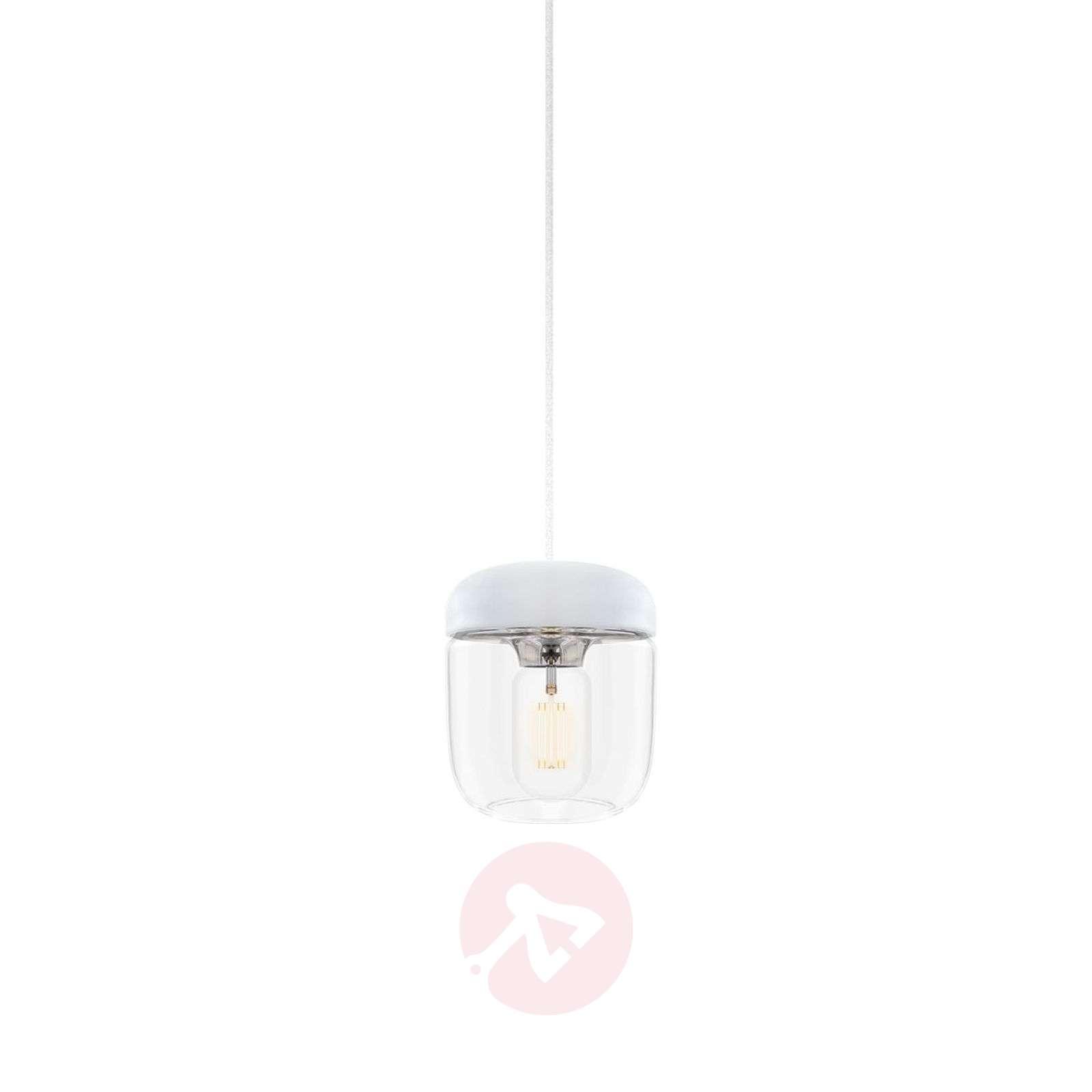 Lasiriippuvalaisin Acorn valkoisella ripustimella-9521072-01