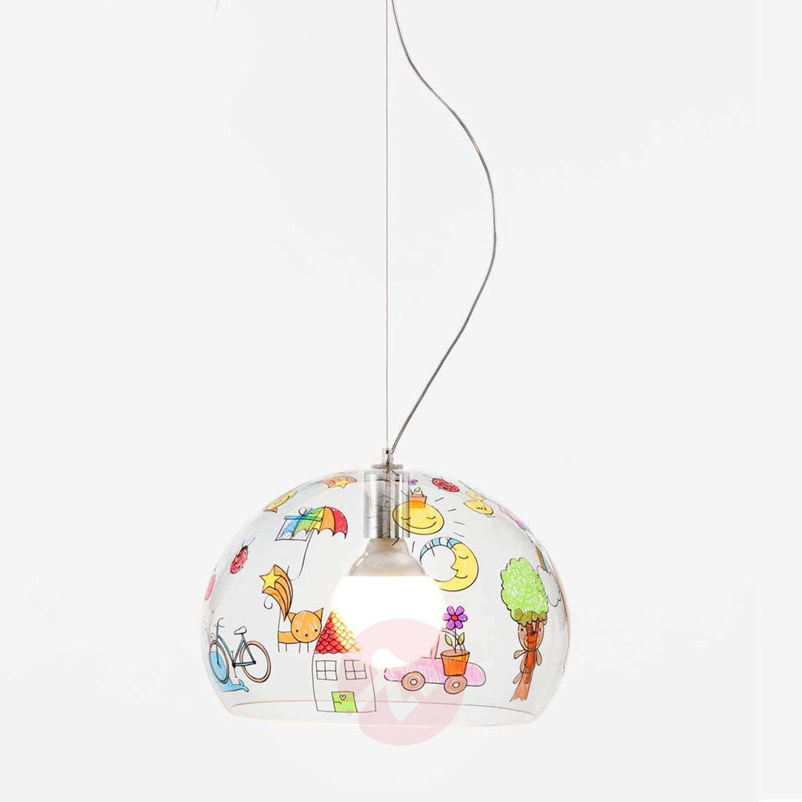 Lasten LED-riippuvalaisin FL/Y Kids, piirustus-5541067-01