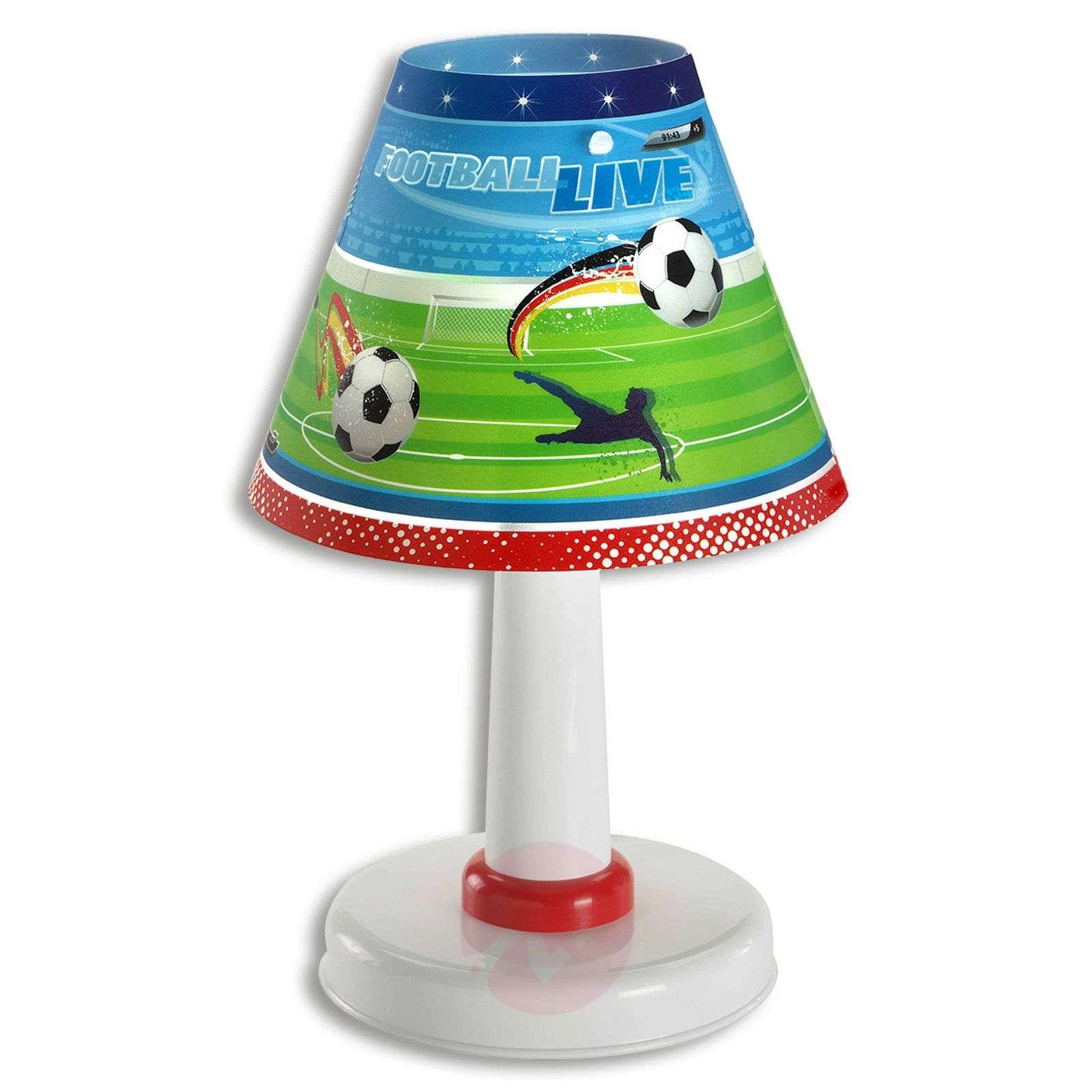 Lastenhuoneen pöytävalaisin Football-2507276-01