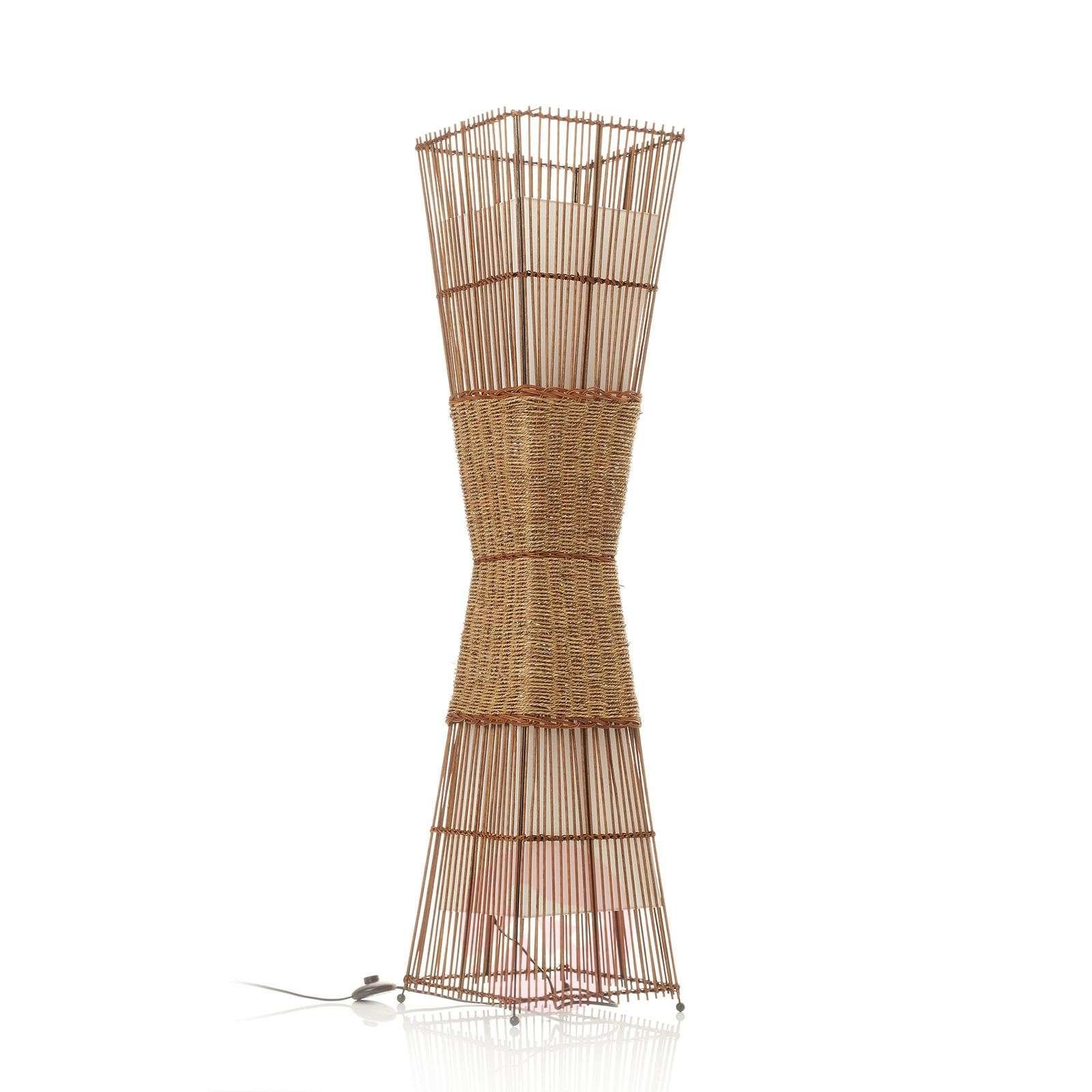 Lattiavalaisin Bamboo, kaksilamppuinen-7007100-01