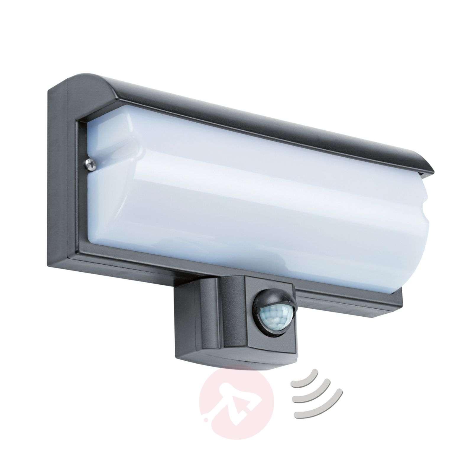 LBO 21679 -LED-seinäspotti sensorilla, IP44