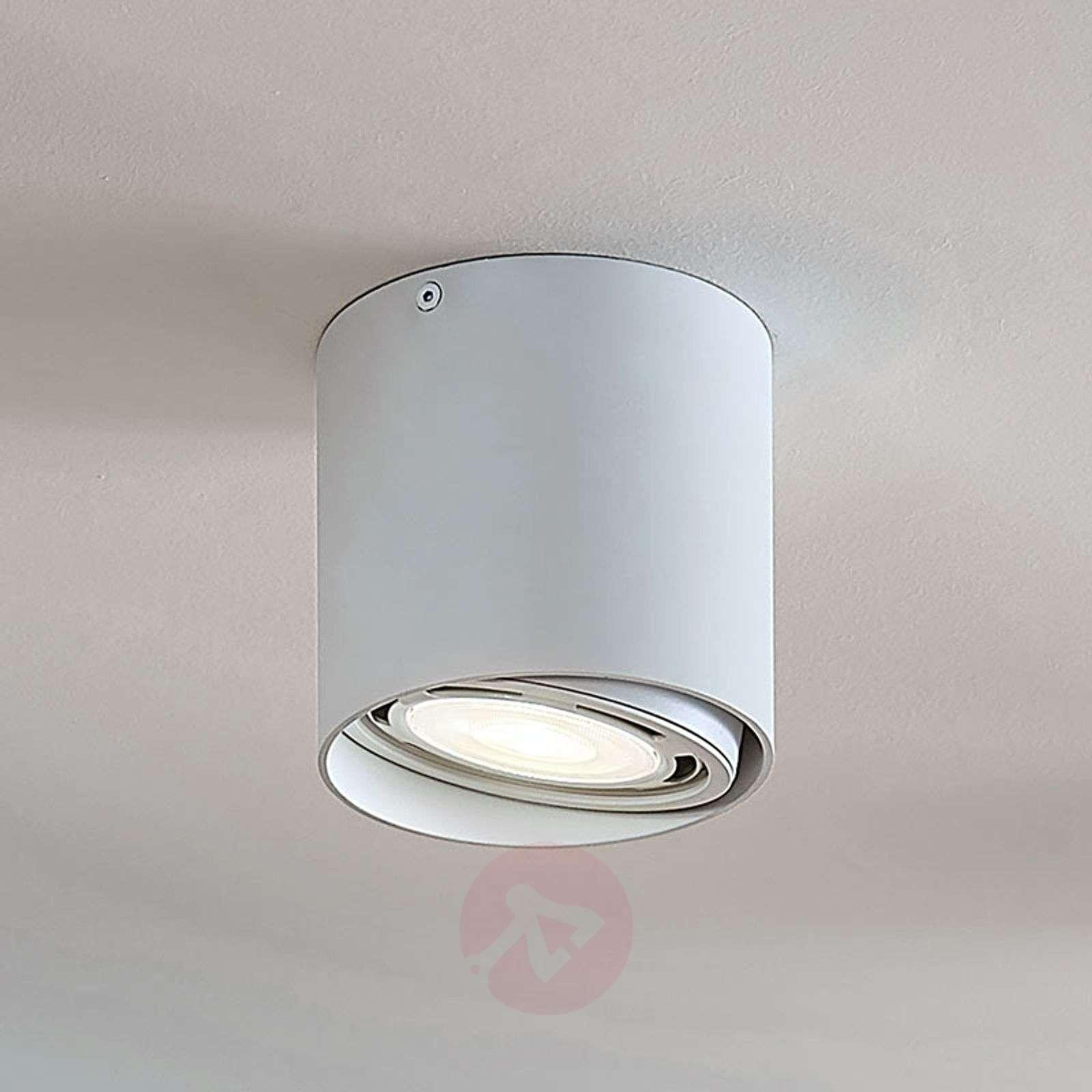 LED-alasvalo Rosalie 1-lamp., pyöreä, valkoinen-9621905-02