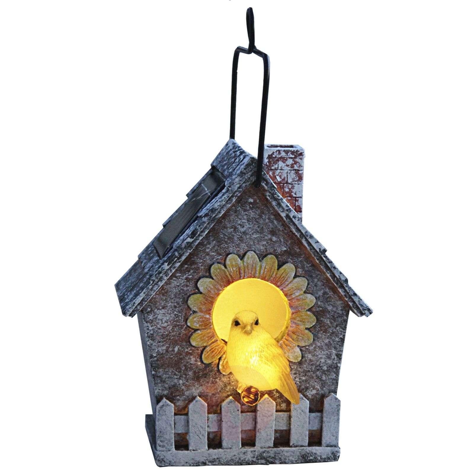 LED-aurinkokennovalaisin, linnunpönttö-1522720-01