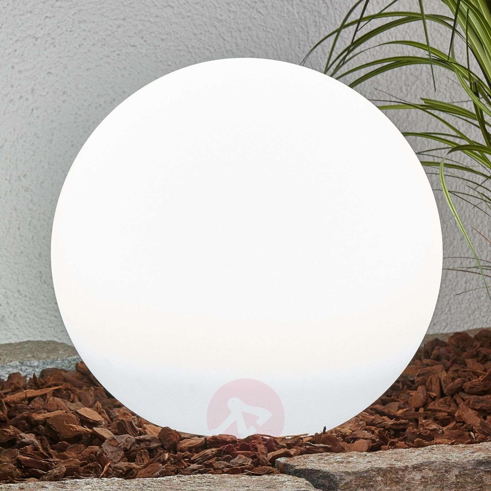 LED-aurinkovalaisinsarja Lago, pallo, 3 osaa-4018065-03