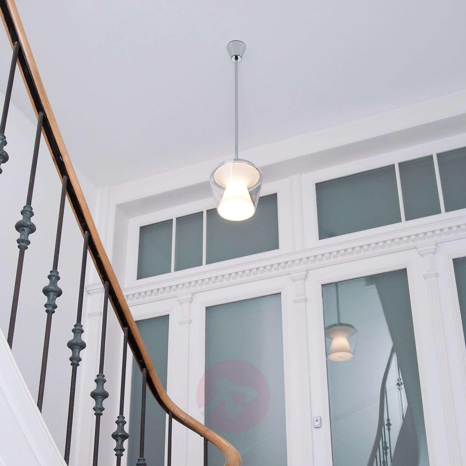 LED-design-riippuvalaisin Annex lasivarjostimella-8550047-01