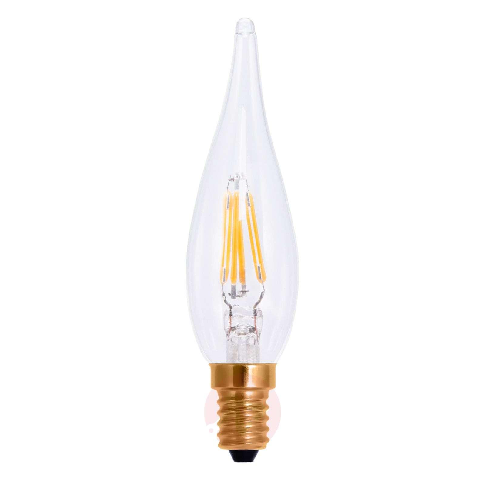 LED-filamentti-kynttilälamppu E10 1,5W-8536176-01