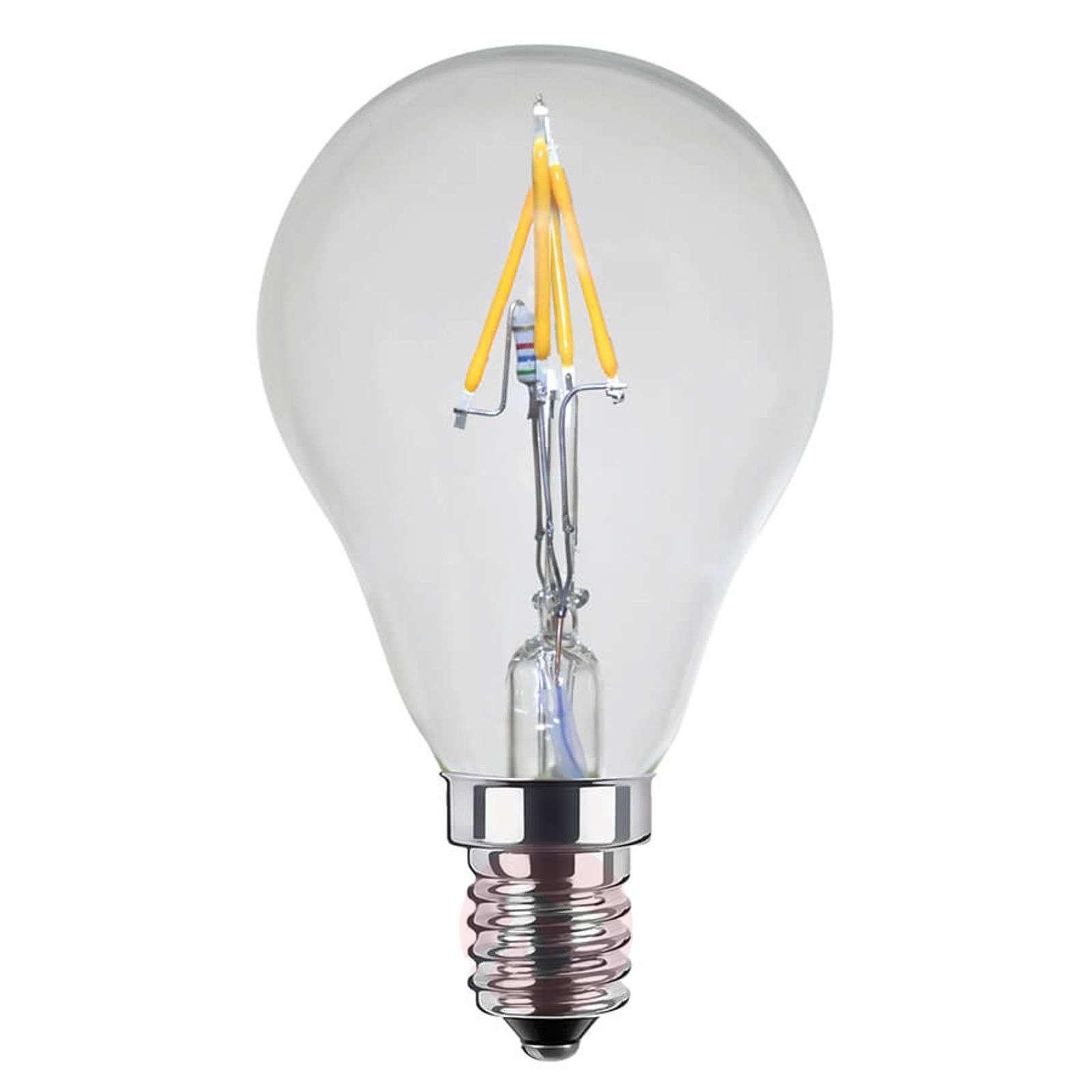 LED-filamentti-pisaralamppu E14 2,7W Ambient Dim-8536180-01