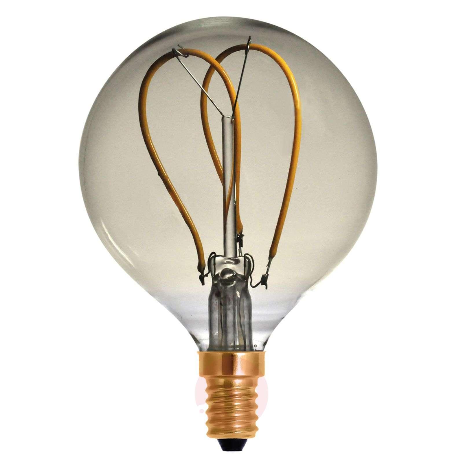 LED-filamenttipallo G80 Curved Line E14 4W 922-8536160-02