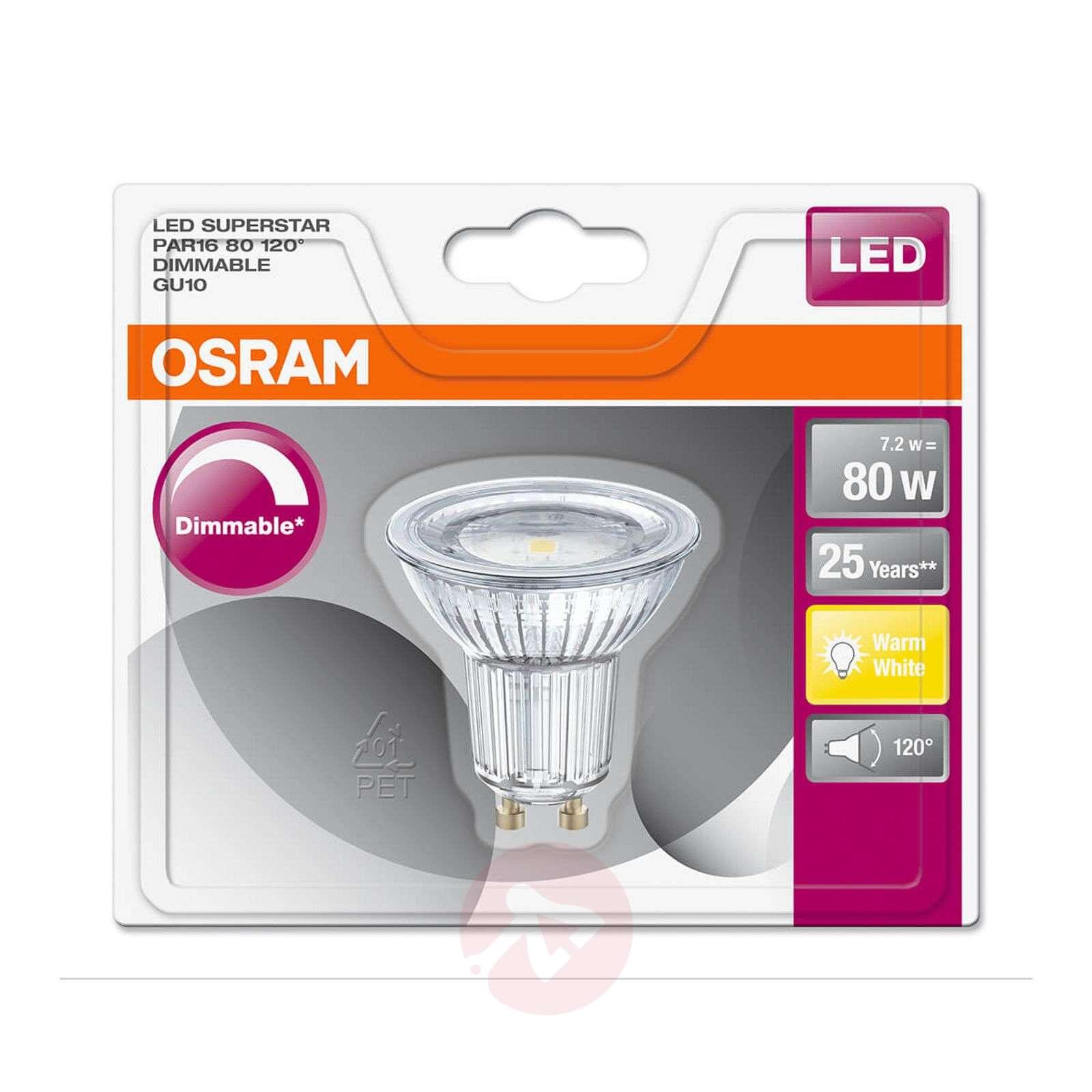 LED-heijastinlamppu 120degree GU10 7,2 W, himmennettävä-7262054X-01