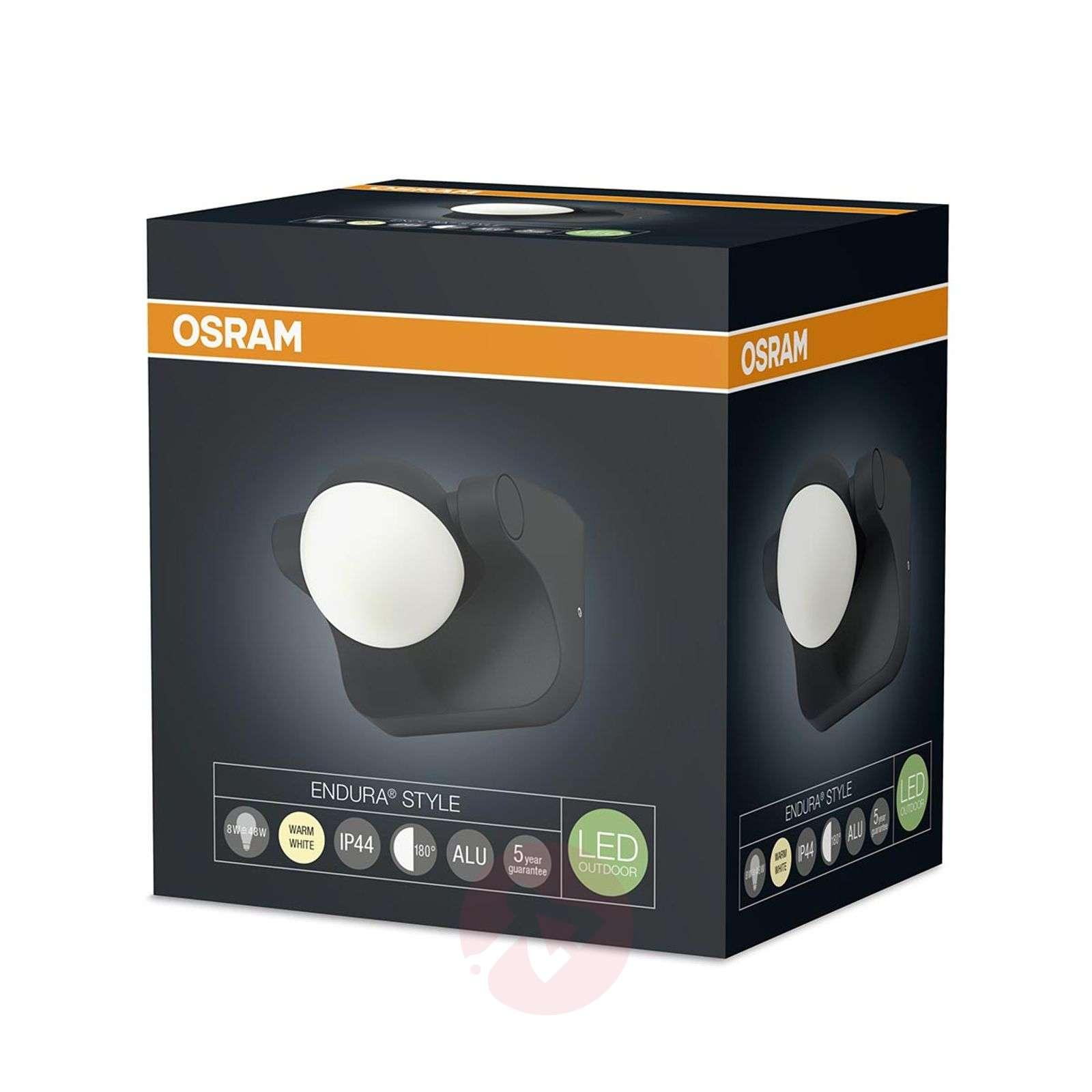 LED-joustoseinäkohdevalaisin Endura Style Sphere-7261277-01