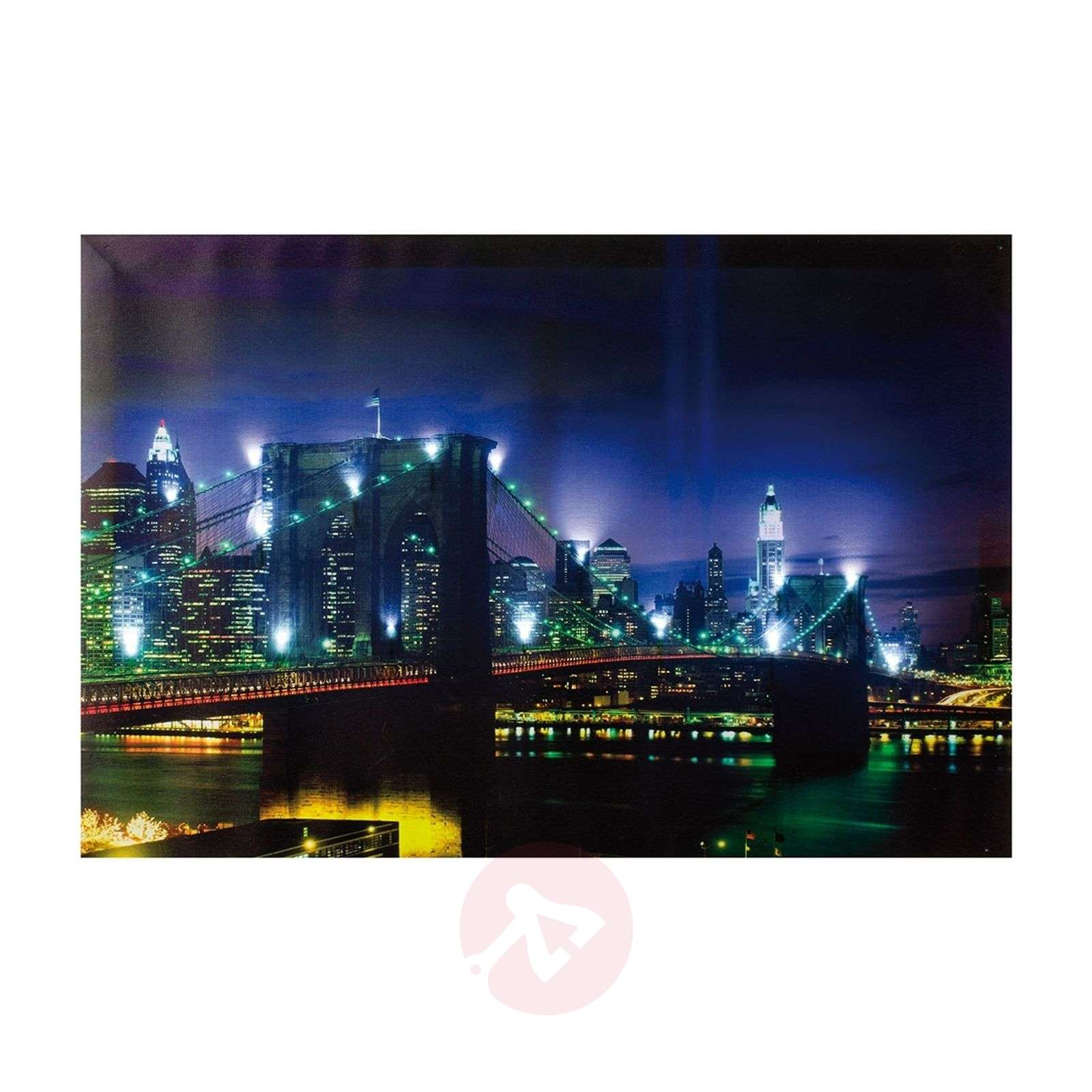 LED-käyttöinen Bridge-valotaulu, 60 x 40 cm-9505837-01