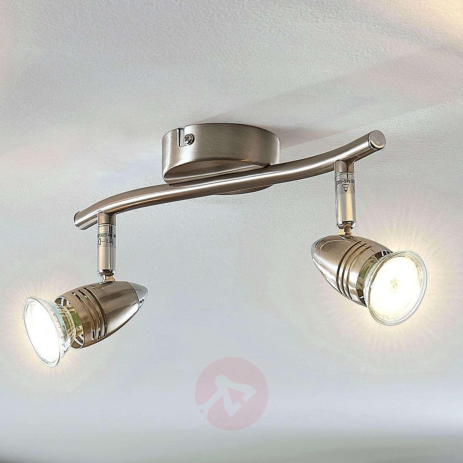 LED-kattokohdevalo Benina, 2-lamppuinen-9950685-02