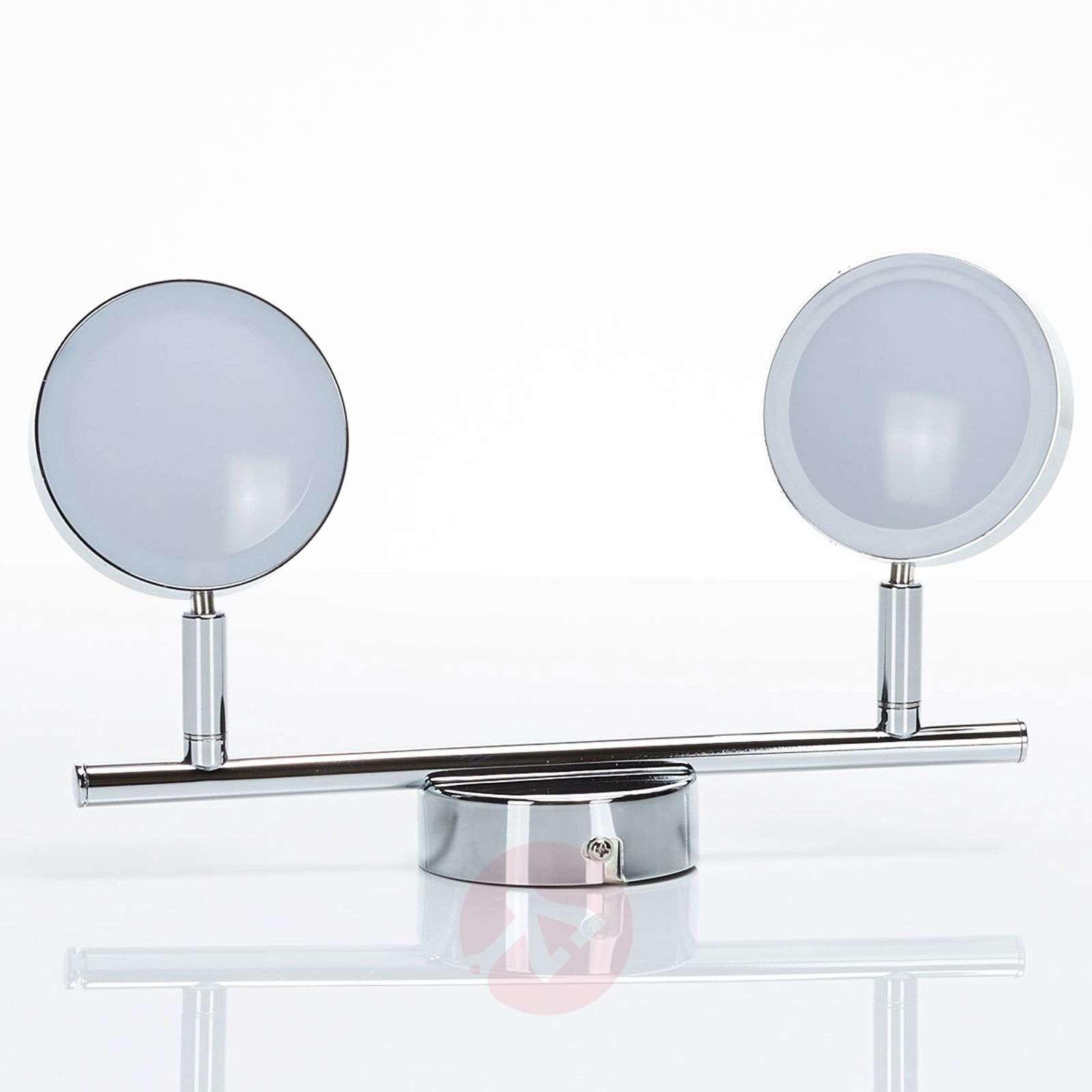 LED-kattokohdevalo Keylan, 2-lamppuinen-9950663-02