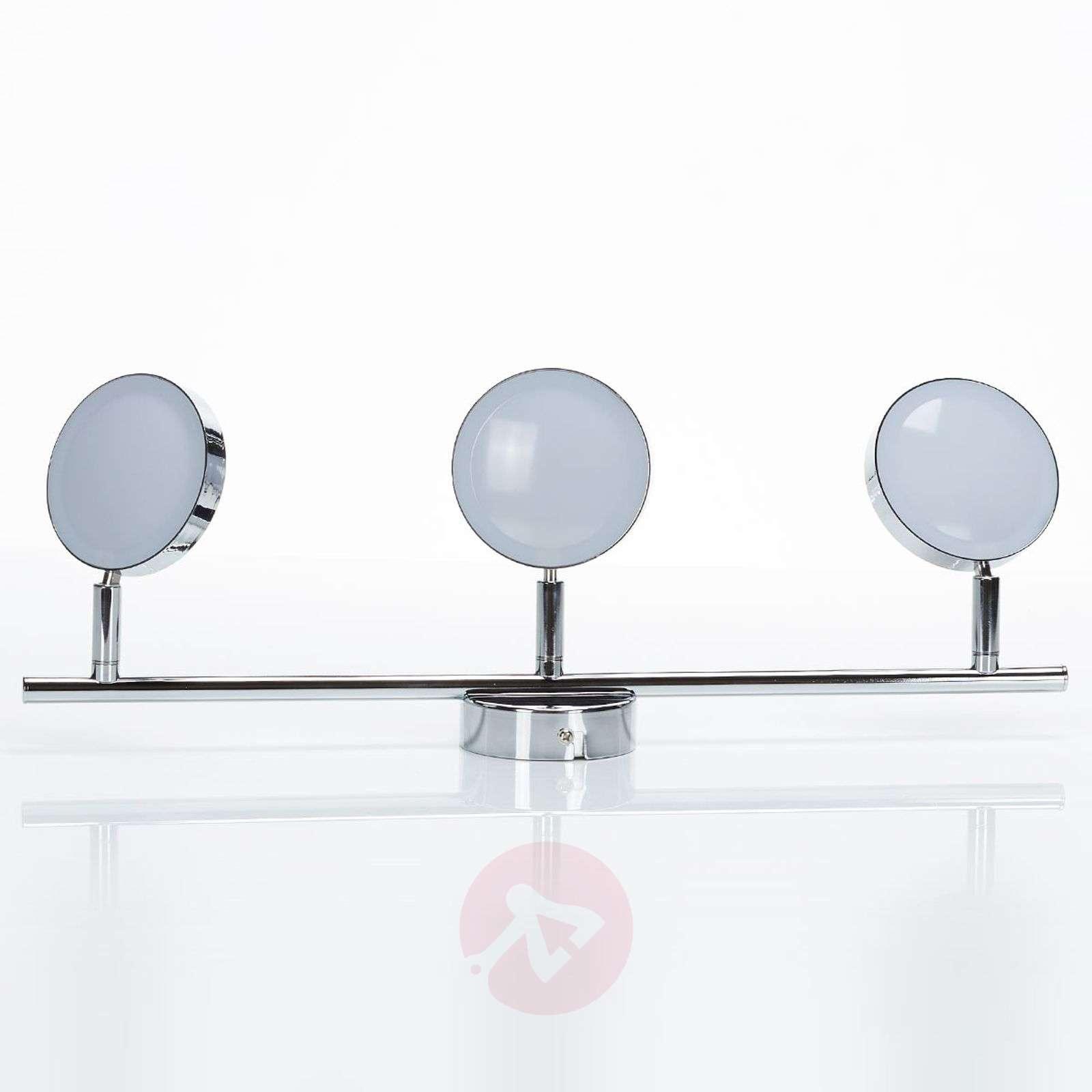 LED-kattokohdevalo Keylan, 3-lamppuinen, pitkä