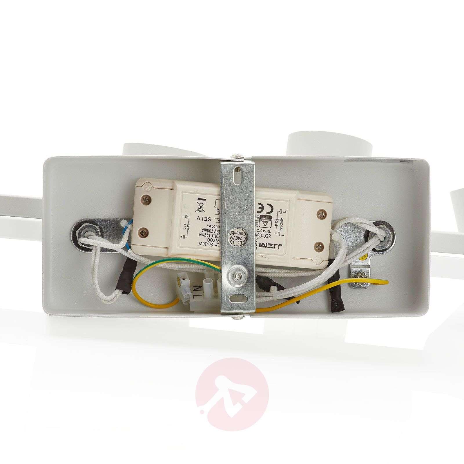 LED-kattokohdevalo Rinik, 4-lamppuinen, pitkä-8032195-01