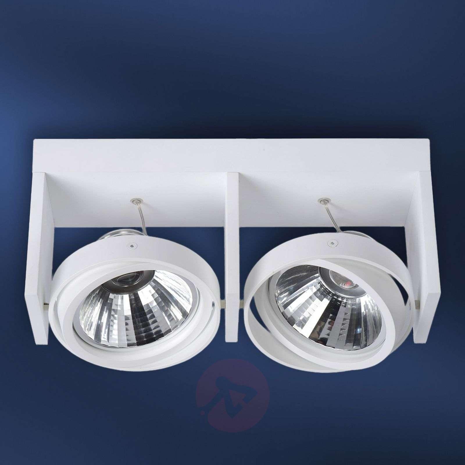 LED-kattokohdevalo Zett valkoinen alumiini-6054962-01