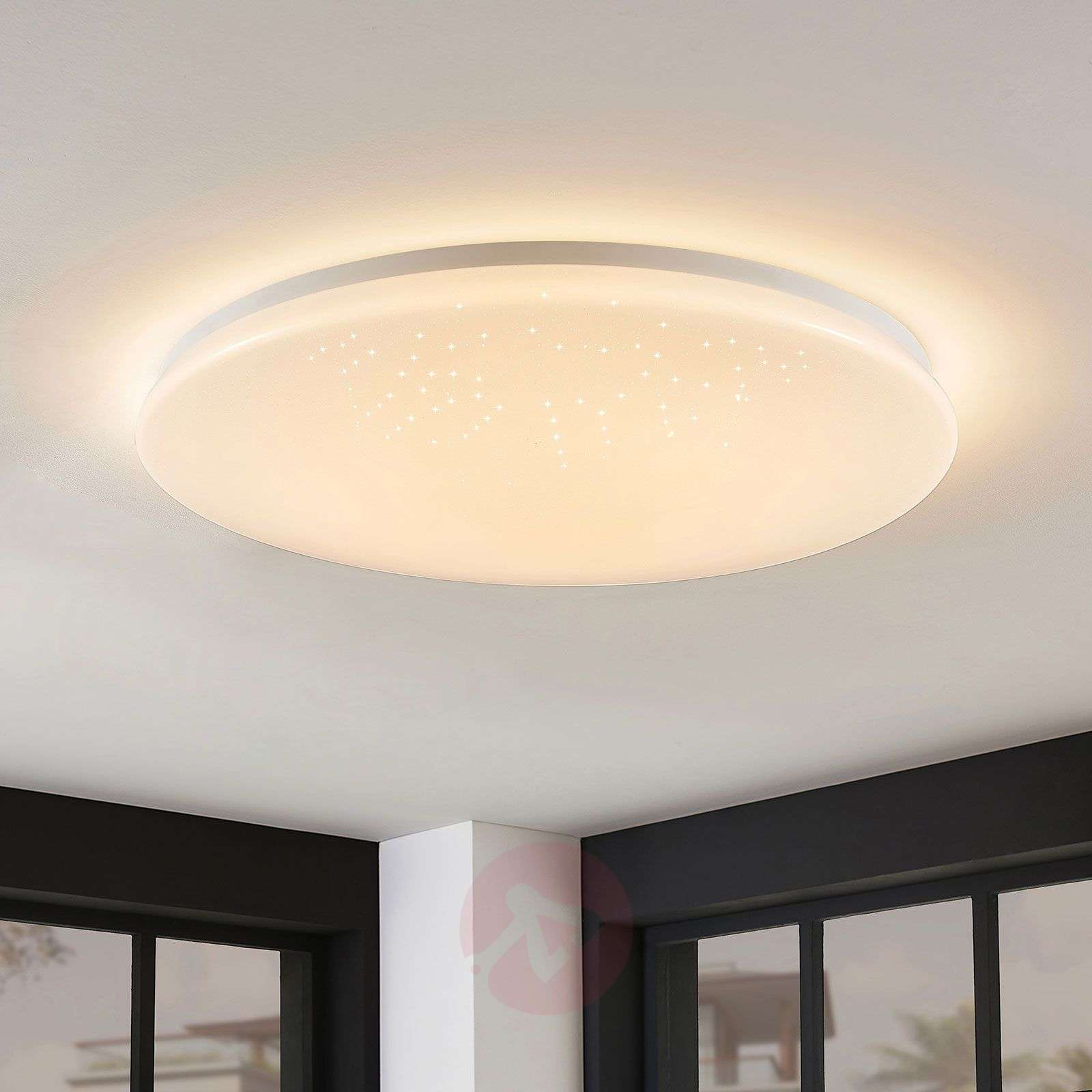LED-kattolamppu Marlie, WiZ-teknologia, pyöreä-8032183-02