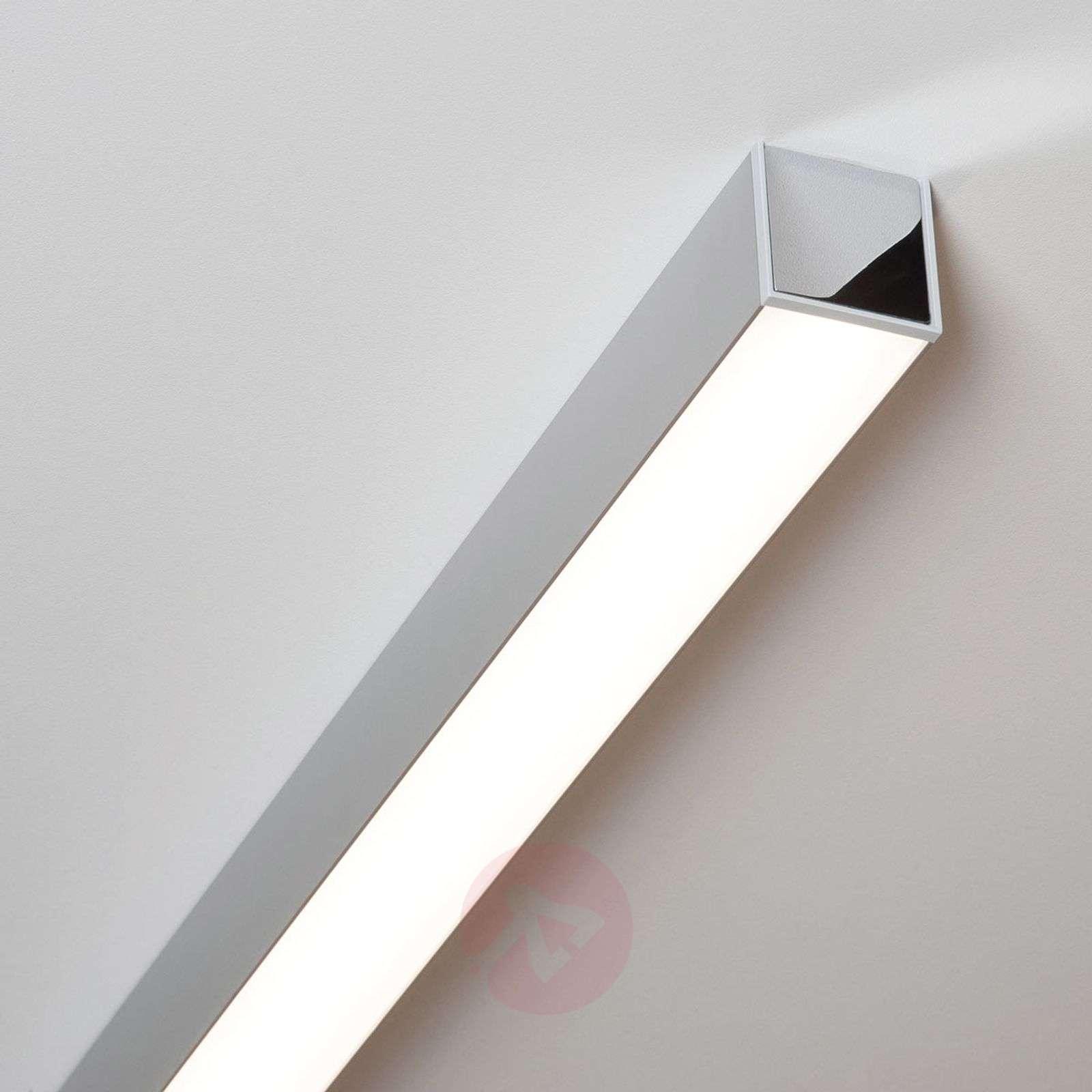 LED-kattolamppu Ride, 113,7 cm, eloksoitu alumiini-6523816-01