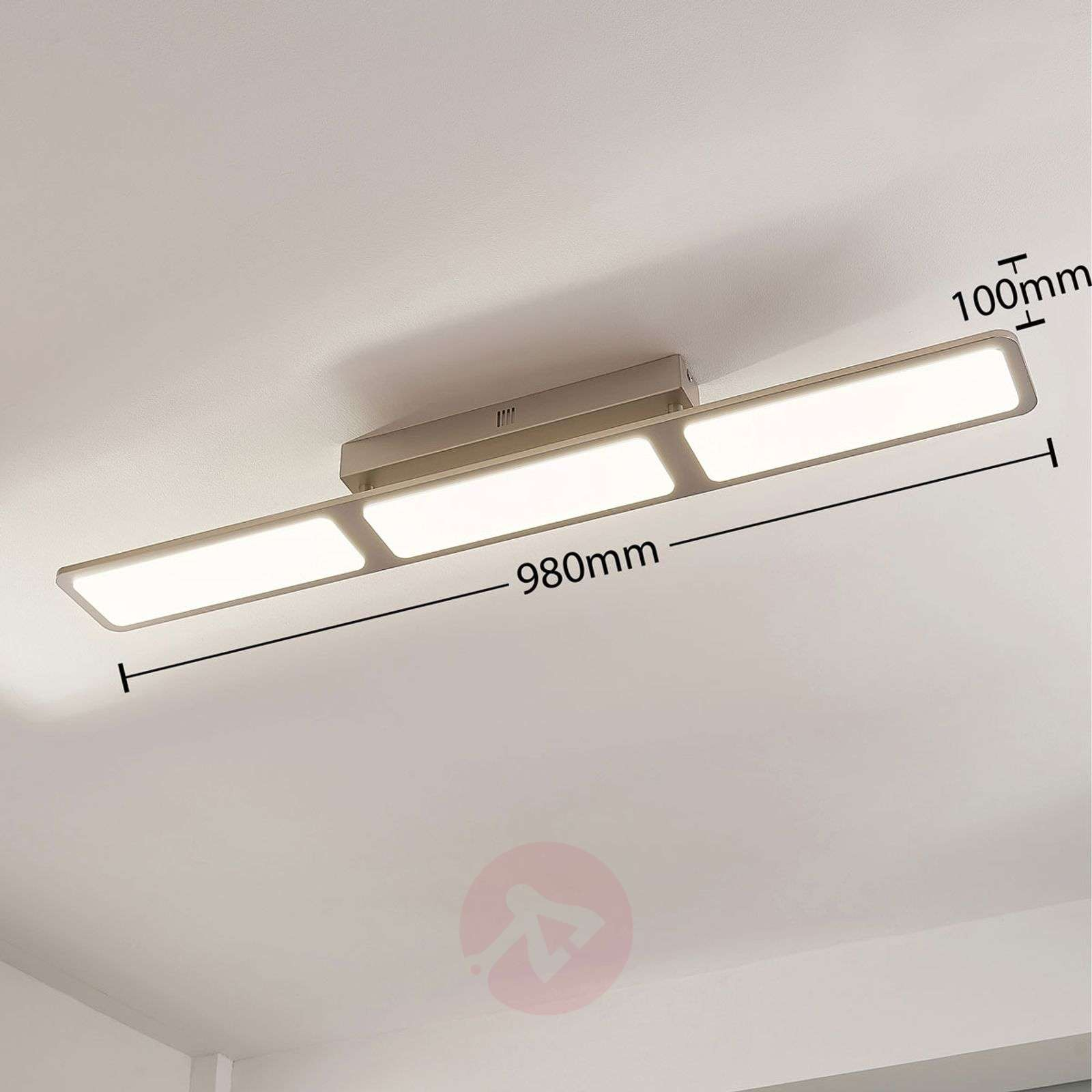 LED-kattolamppu Stephanie, himmennettävä, 3-lampp.-9621418-01