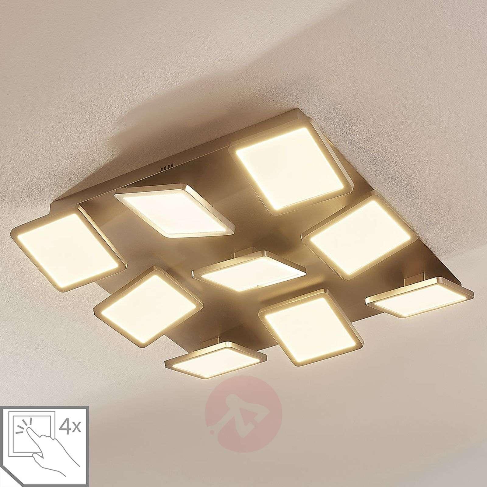 LED-kattolamppu Stephanie, himmennettävä, 9-lampp.-9621423-02