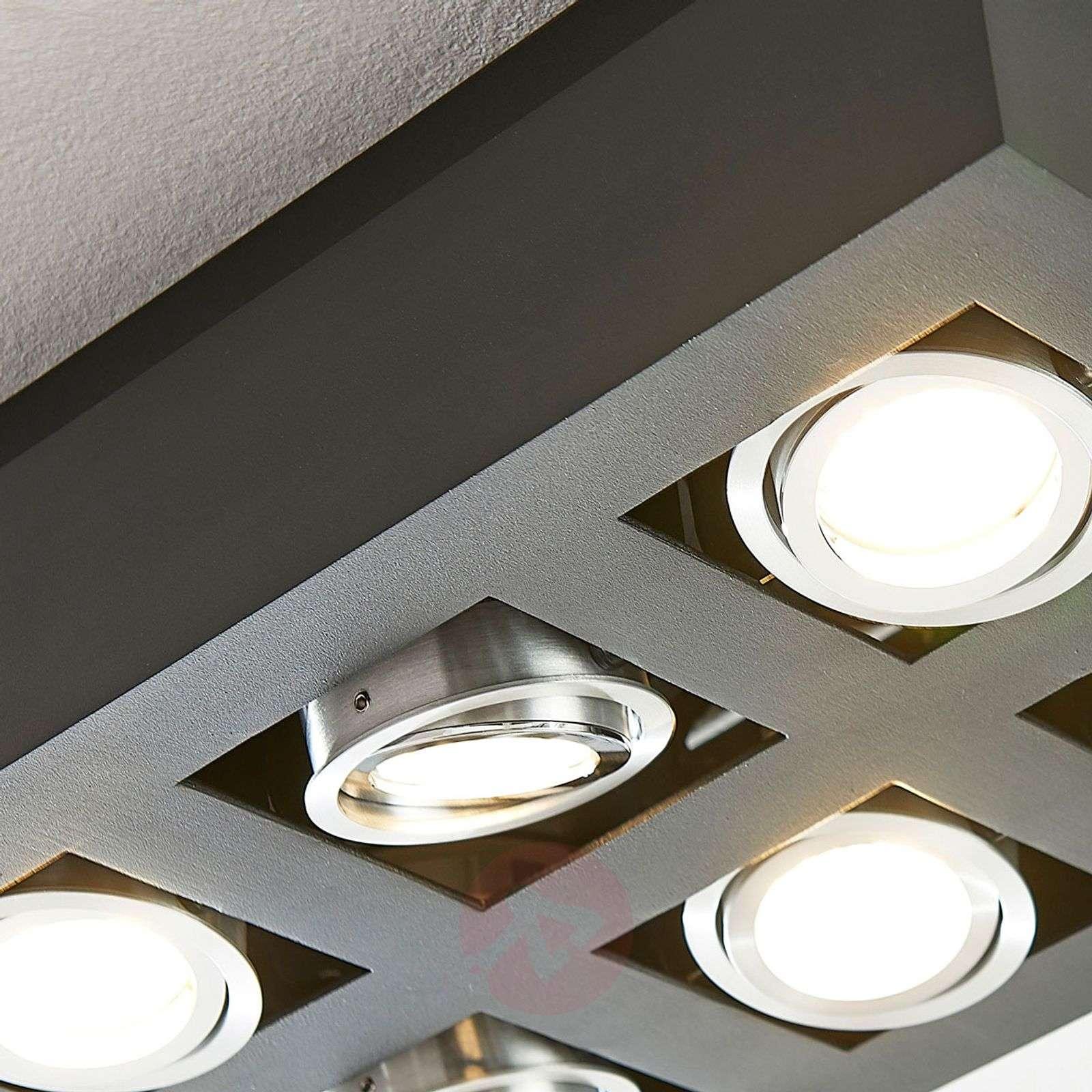 LED-kattolamppu Vince, 36 x 25 cm musta-9621711-01
