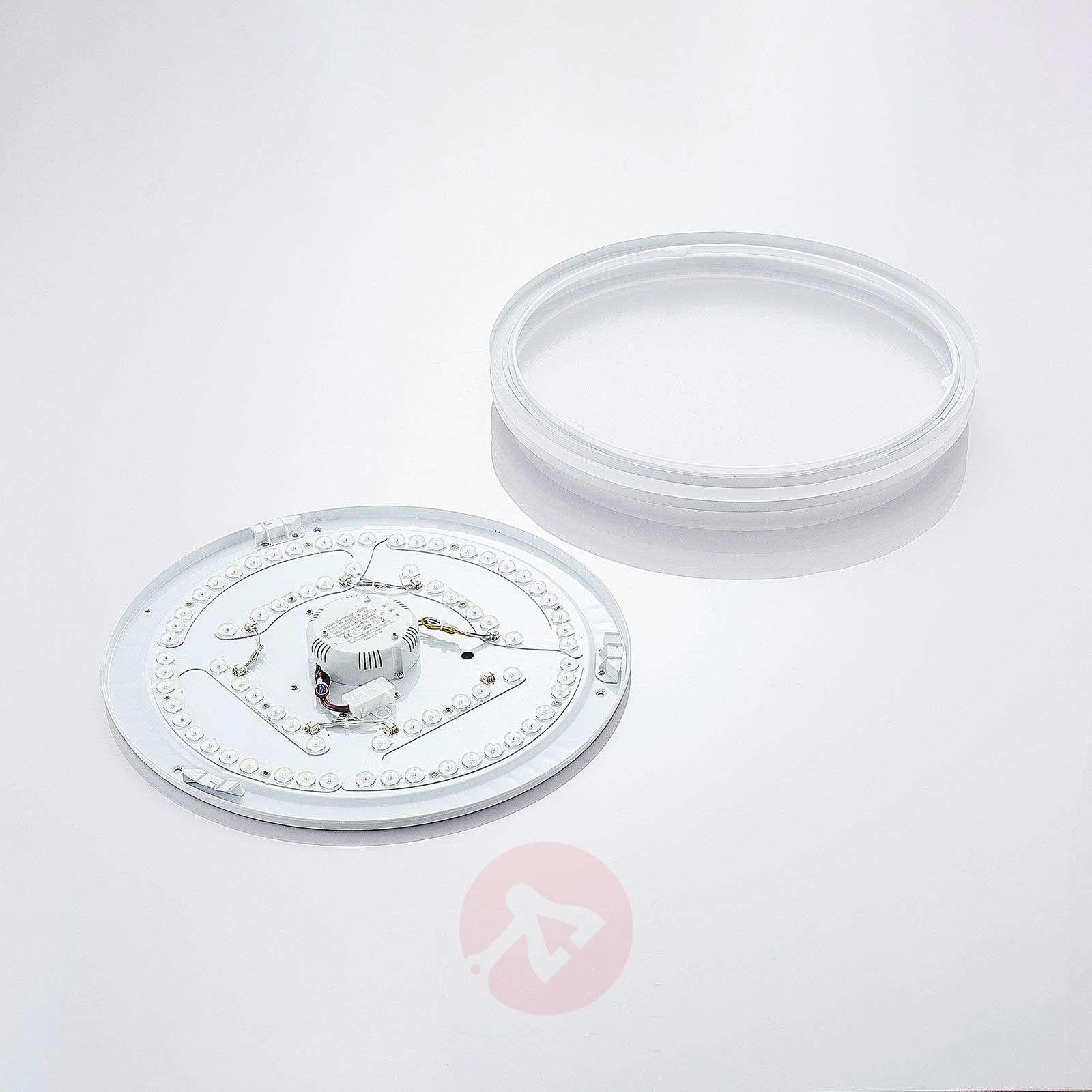 LED-kattovalaisin Arnim valkoisena, pyöreä muoto-4018182-01