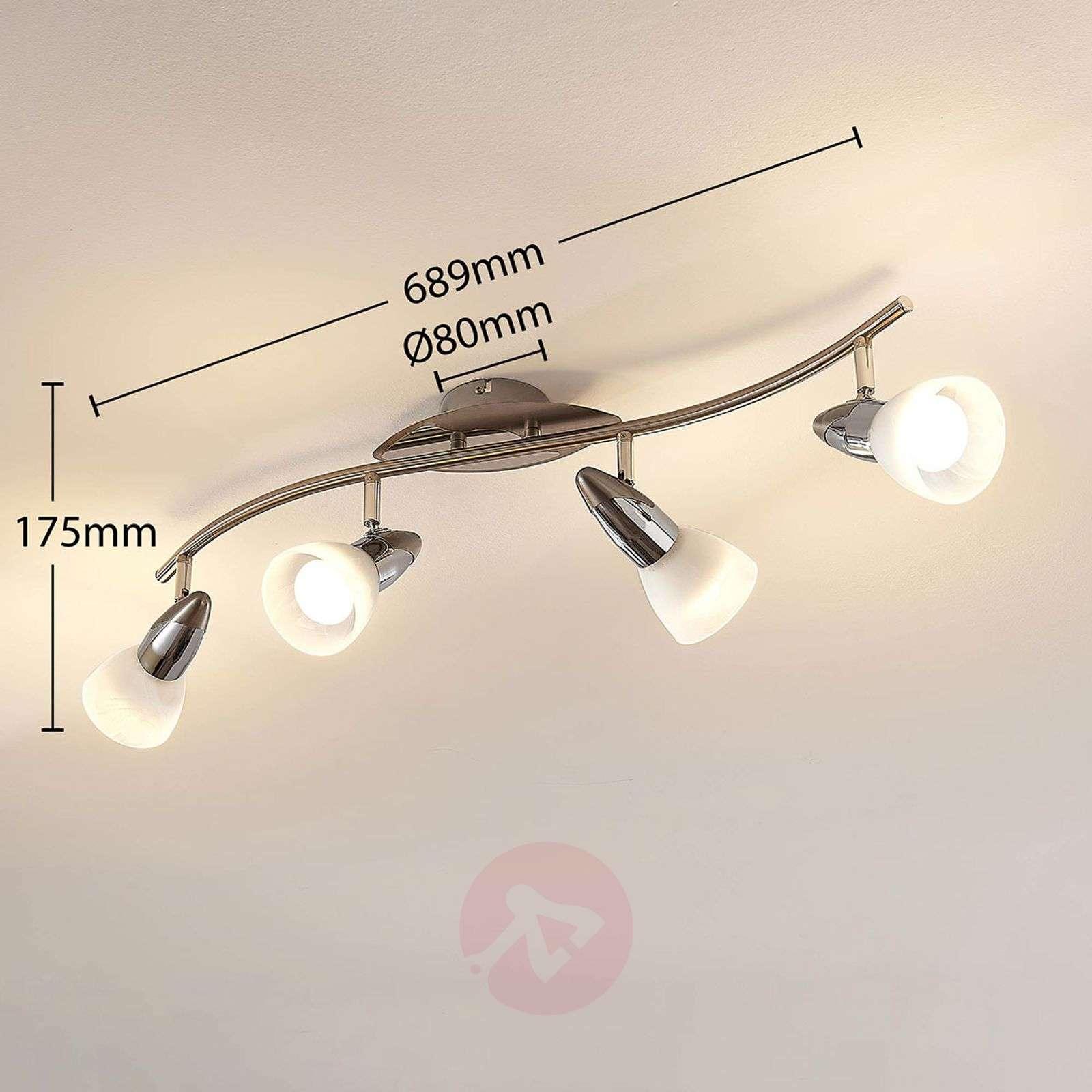 LED-kattovalaisin Cora, easydim-toiminto, 4-lamp.-9624321-01