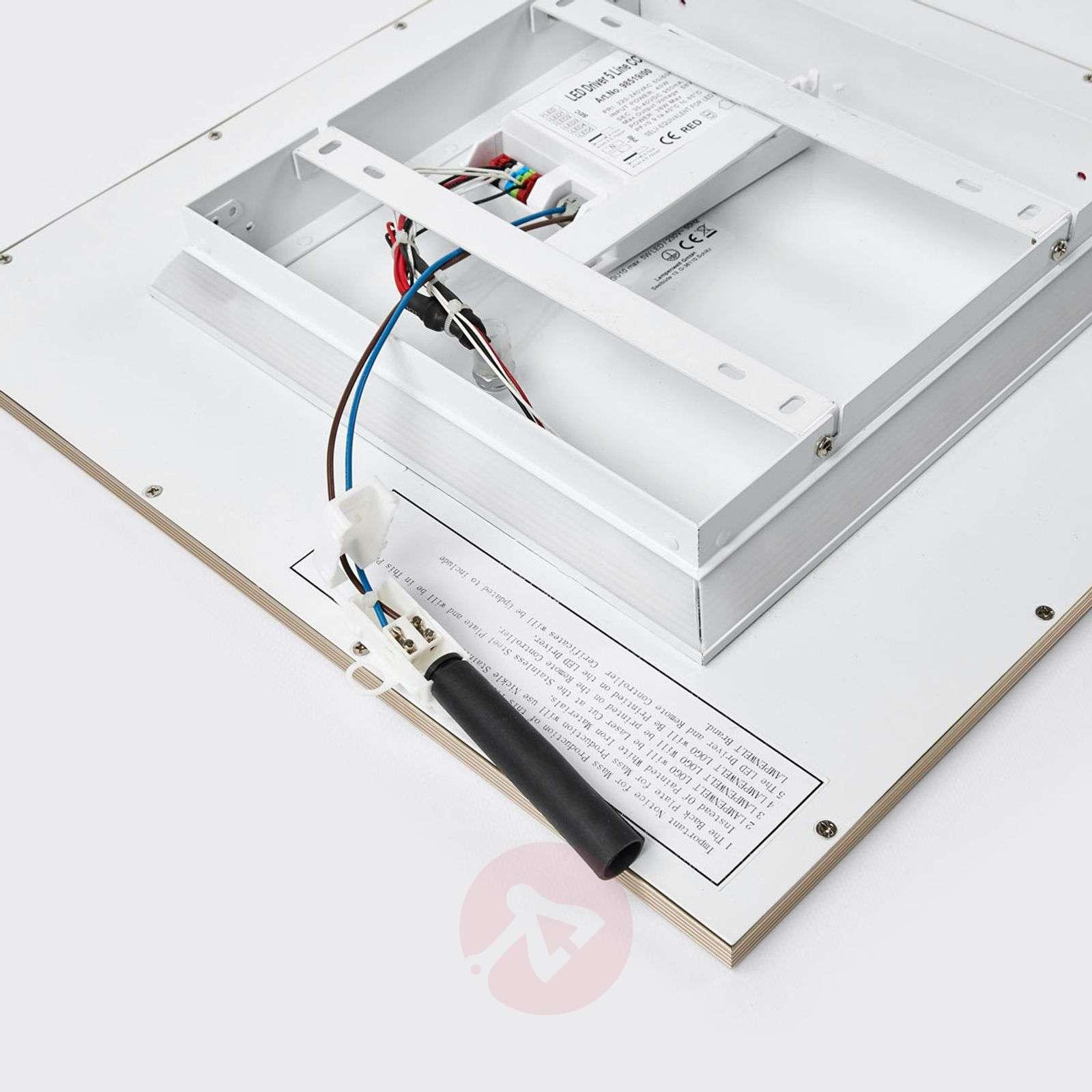 LED-kattovalaisin Corinna, 2700-6200K, 42x42cm-1558120-04