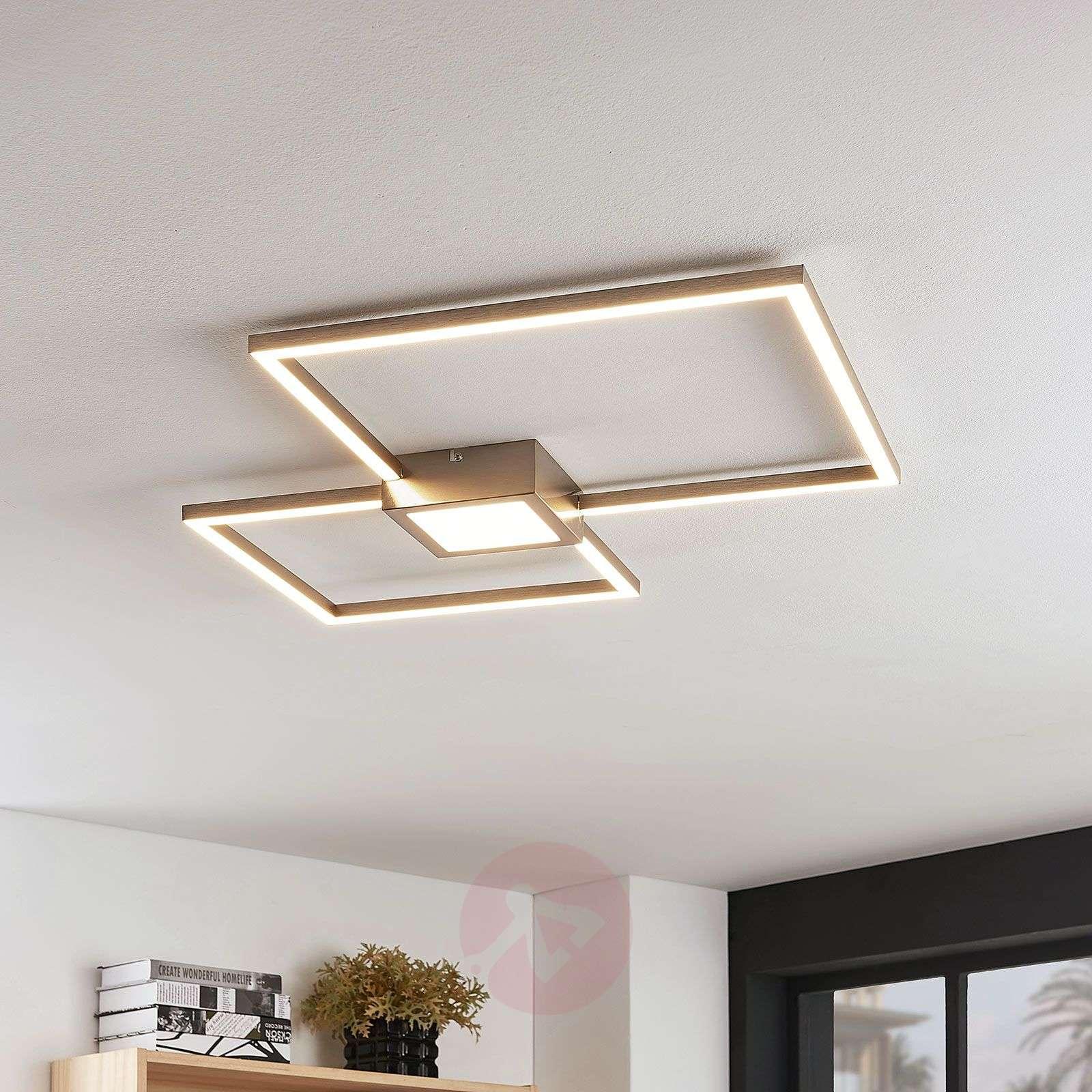 LED-kattovalaisin Duetto, nelikulmainen-8032127-02