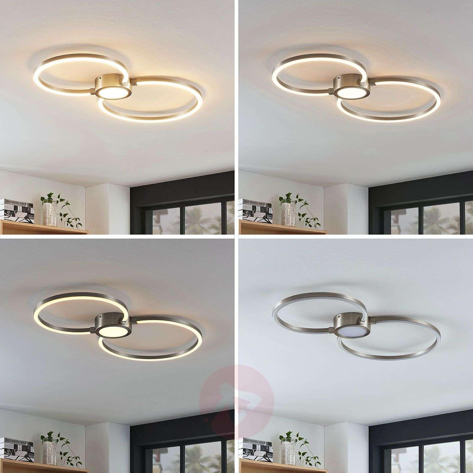 LED-kattovalaisin Duetto, rengas-8032128-02