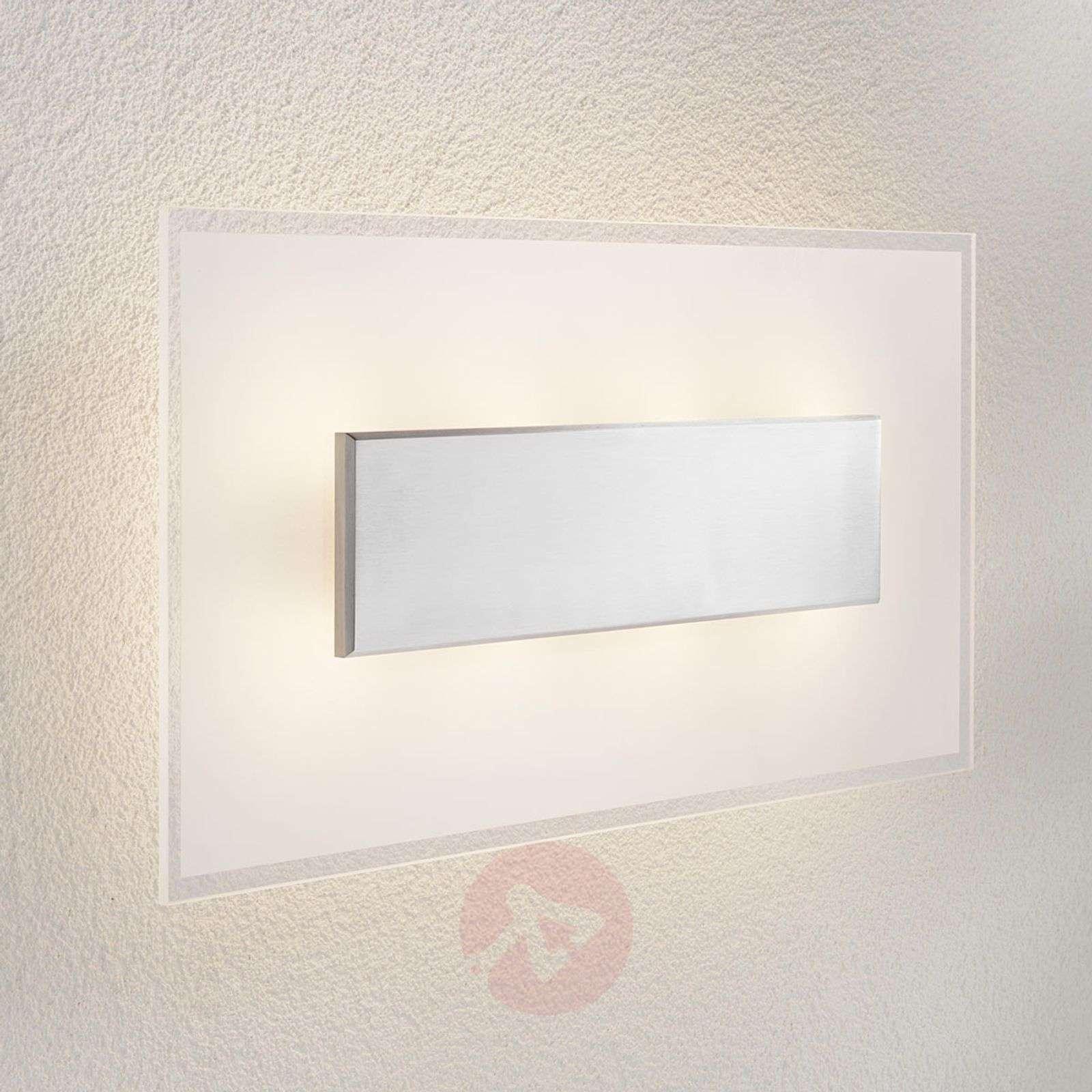 LED-kattovalaisin Lole, lasivarjostin, 59 x 29 cm-6722527-01