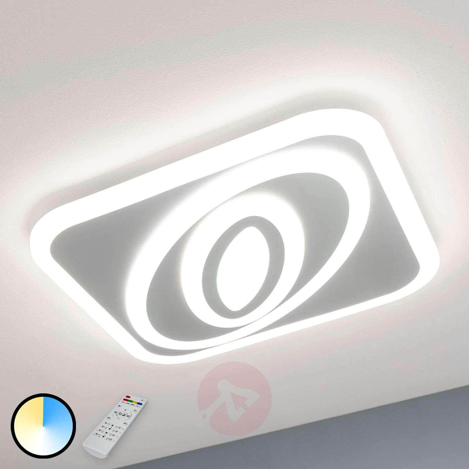 LED-kattovalaisin Magalie, säädettävä valoväri-8032130-010