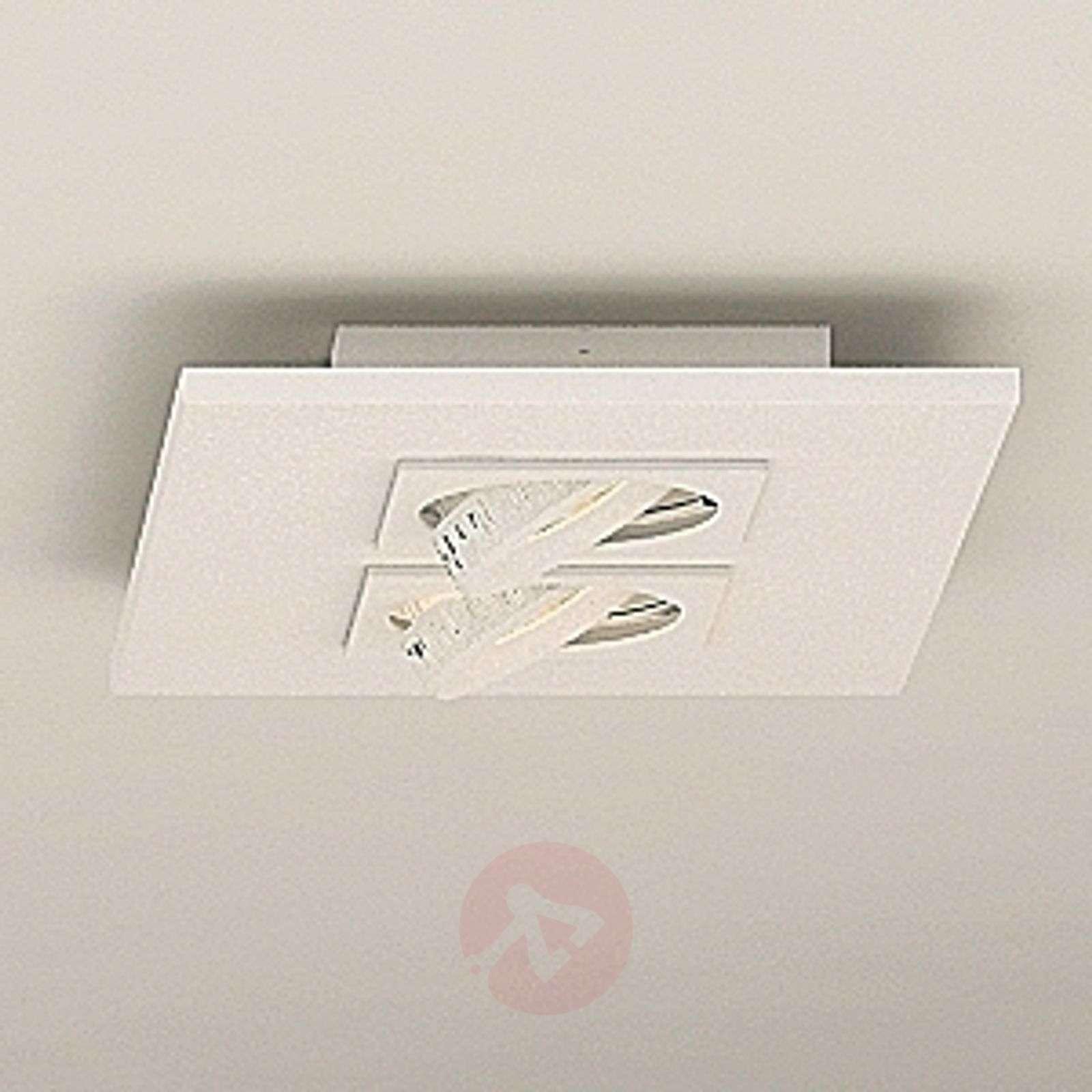 LED-kattovalaisin Marc, 2 lamppua, kallistettava-6708043-01