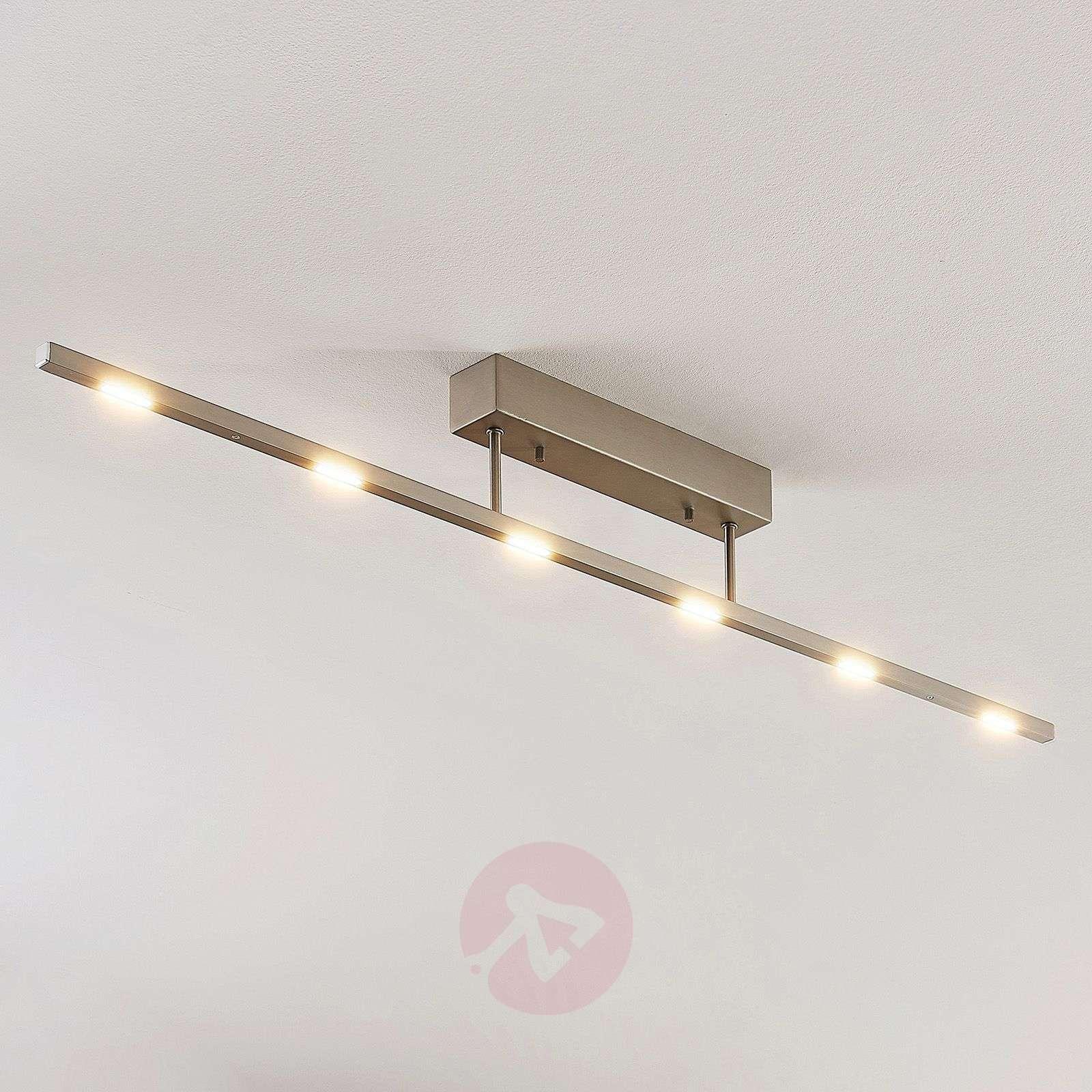 LED-kattovalaisin Margeau, nikkeli, himmennettävä-9624490-01