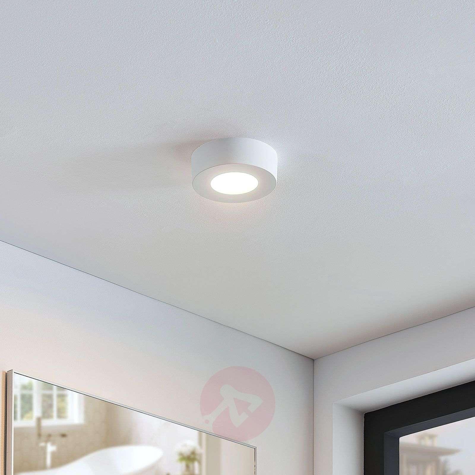 LED-kattovalaisin Marlo valk. 3000K pyöreä 12,8cm-9978090-02