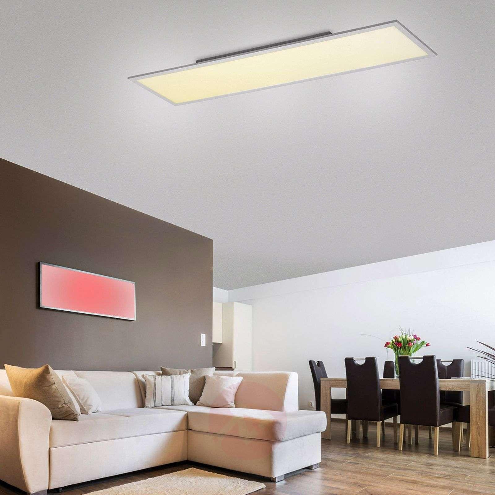 LED-kattovalaisinMilian RGBW, 120x30cm-7620061-02