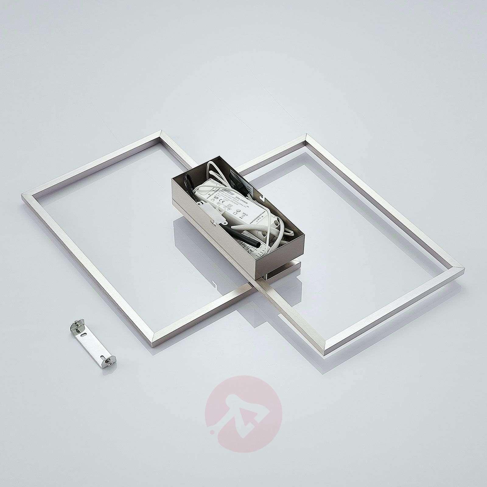 LED-kattovalaisin Quadra, himmennettävä-7620074-02
