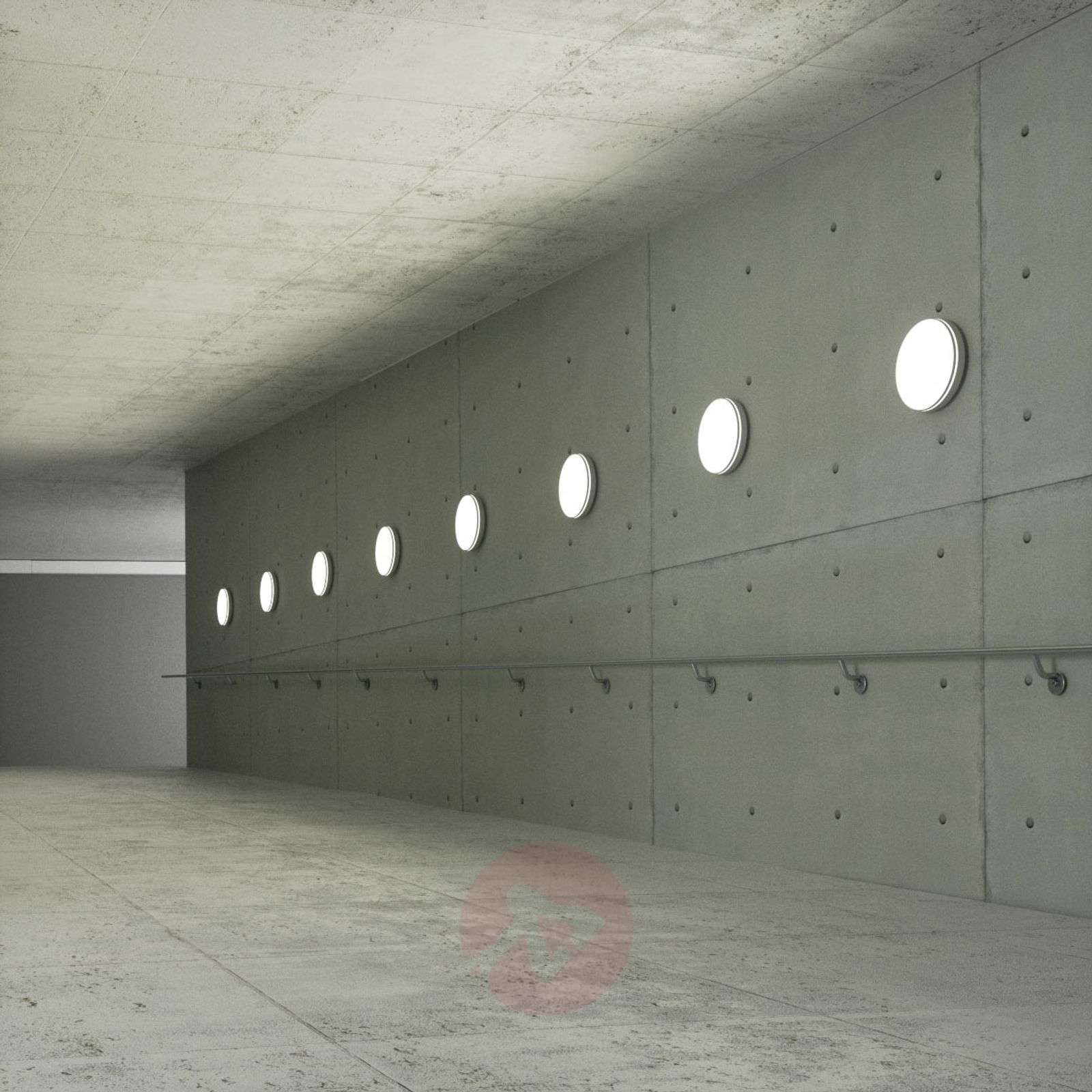 LED-kattovalaisin Rob perusvalkoinen pyöreä 7cm-9642012-013